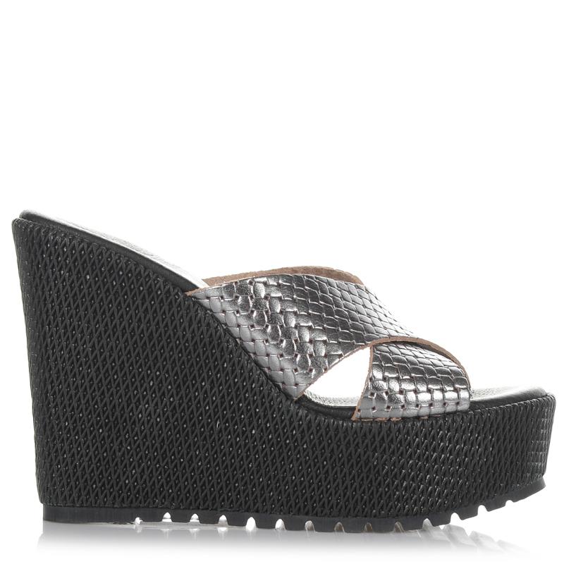 Δερμάτινες Πλατφόρμες Mules Dolce 170406 γυναικα   γυναικείο παπούτσι