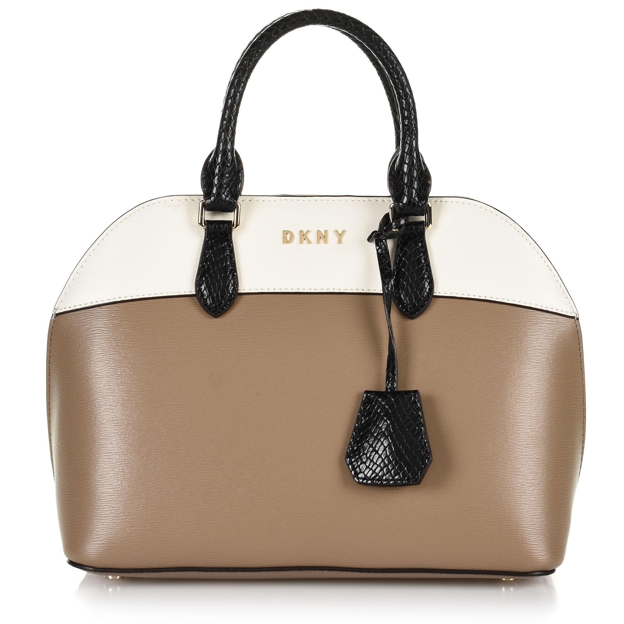 Δερμάτινη Tote Τσάντα DKNY Bobi R94DYF30