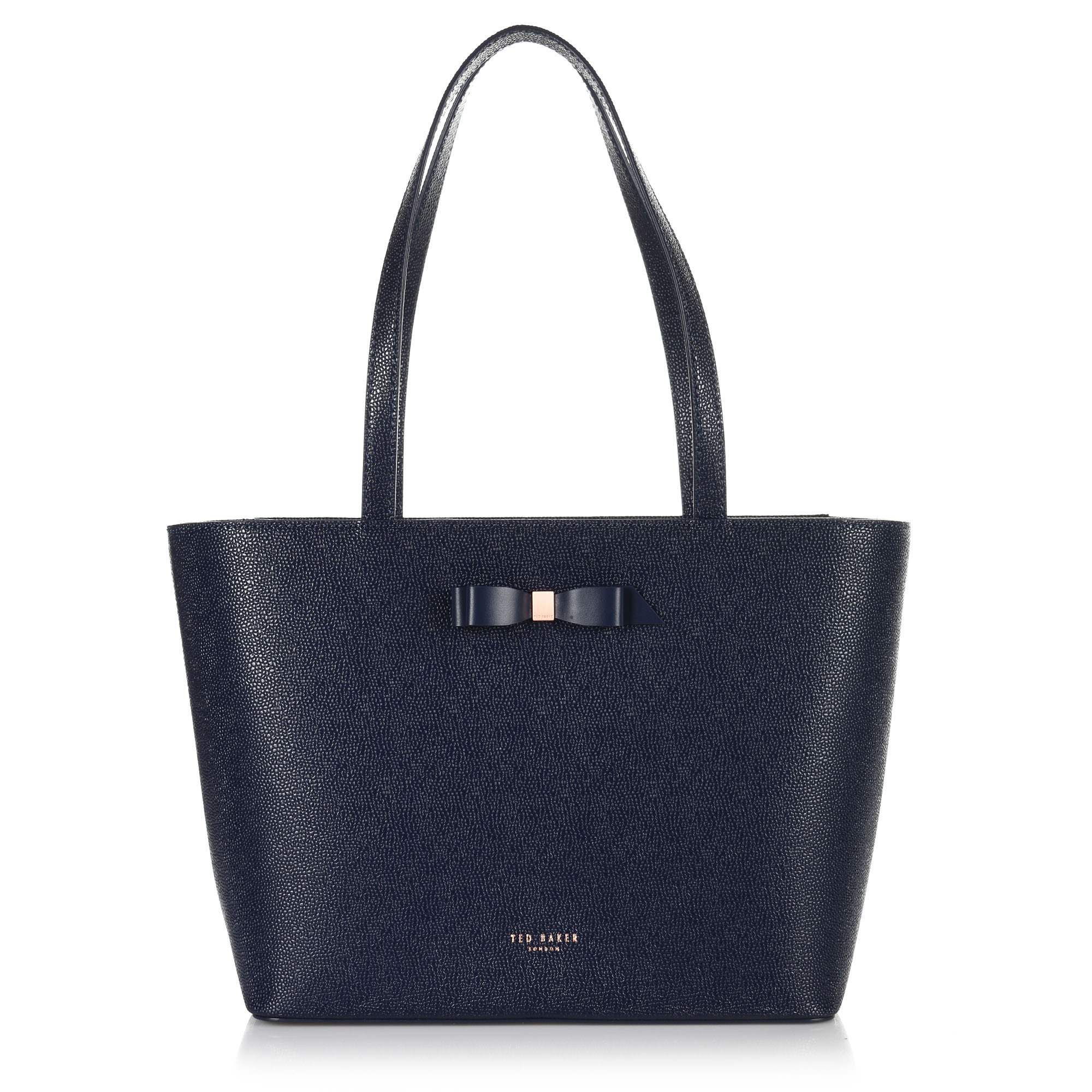 Δερμάτινη Tote Τσάντα Ted Baker Bow Detail Shopper XH9W 151188