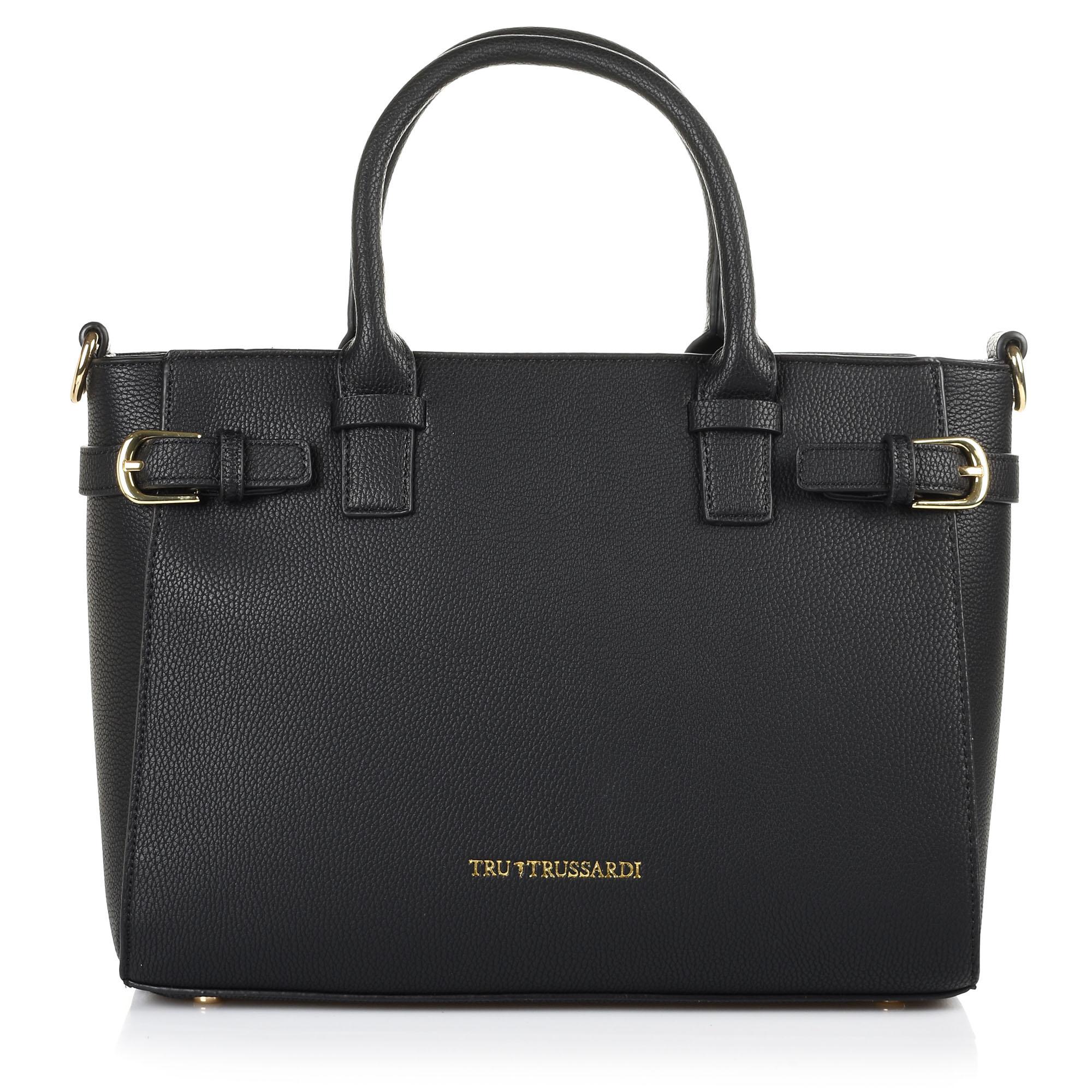 4c30036579 -20% Brand Bags Δερμάτινη Tote Τσάντα Tru Trussardi 76TB15