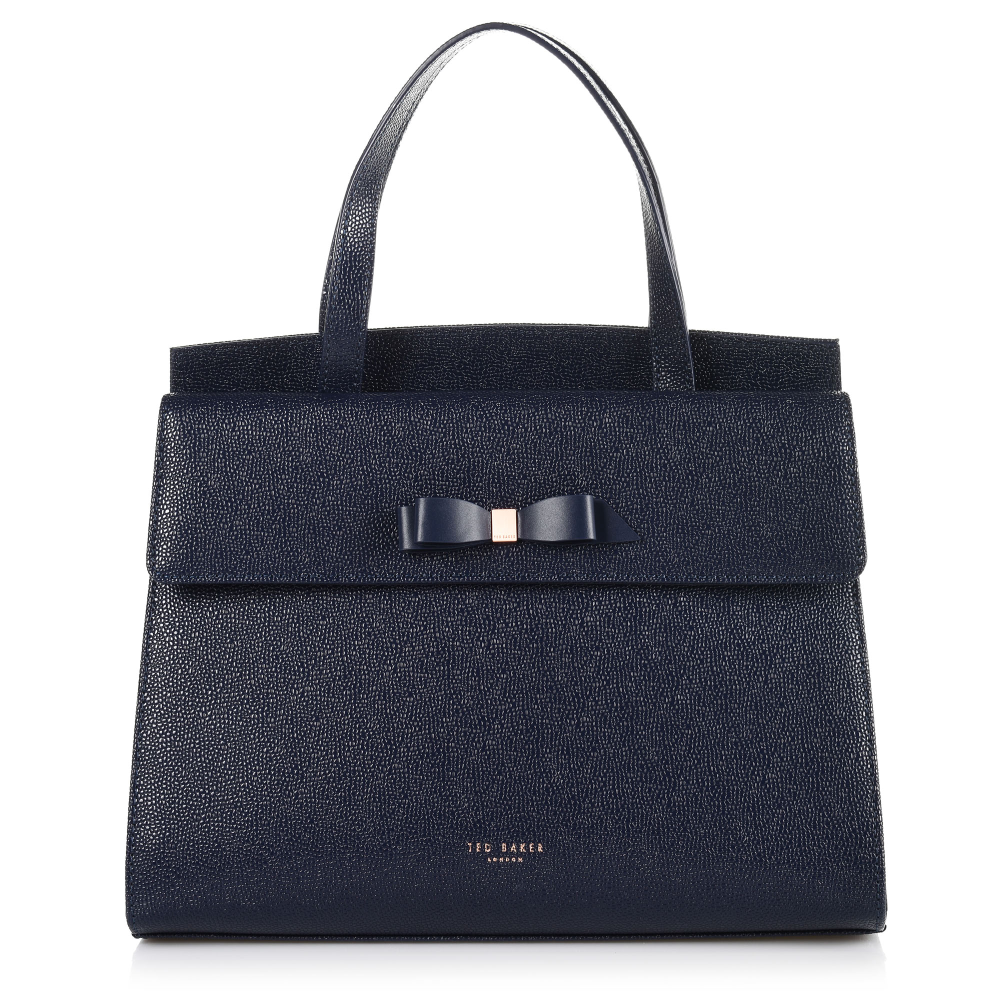 dbf9252cb9 Brand Bags Δερμάτινη Tote-Xιαστί Τσάντα Ted Baker Bow WXB-Aarilli-XH9W