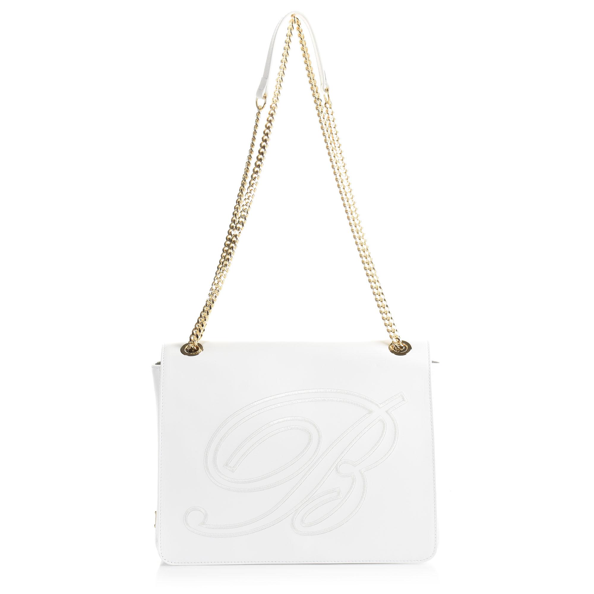 Δερμάτινη Τσάντα Ώμου Blumarine 186936