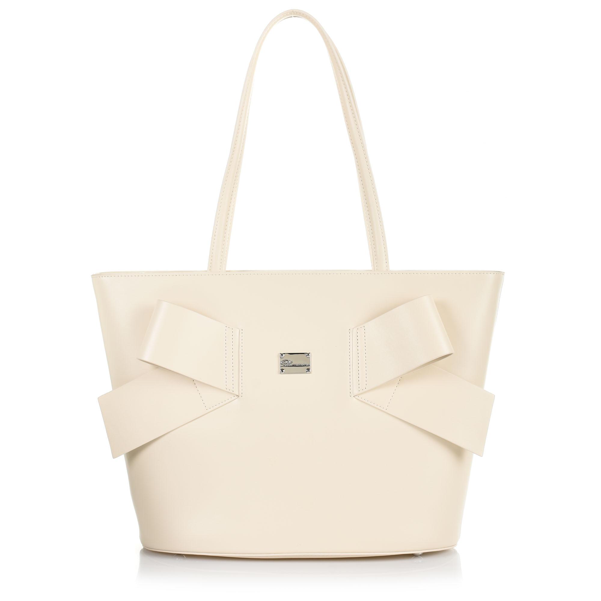 Δερμάτινη Τσάντα Ώμου Blumarine Jenny B56.007