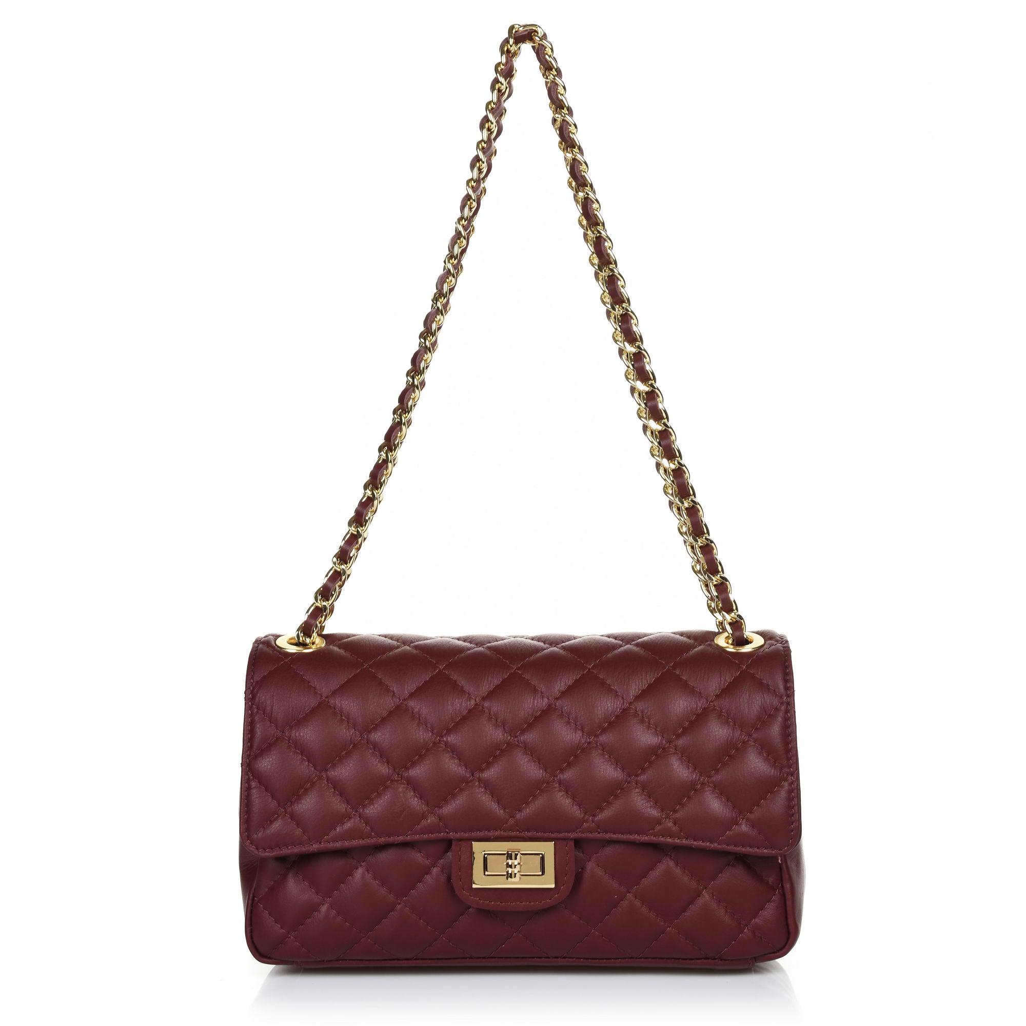 Δερμάτινη Τσάντα Ώμου-Χιαστί Brandbags 00CH24
