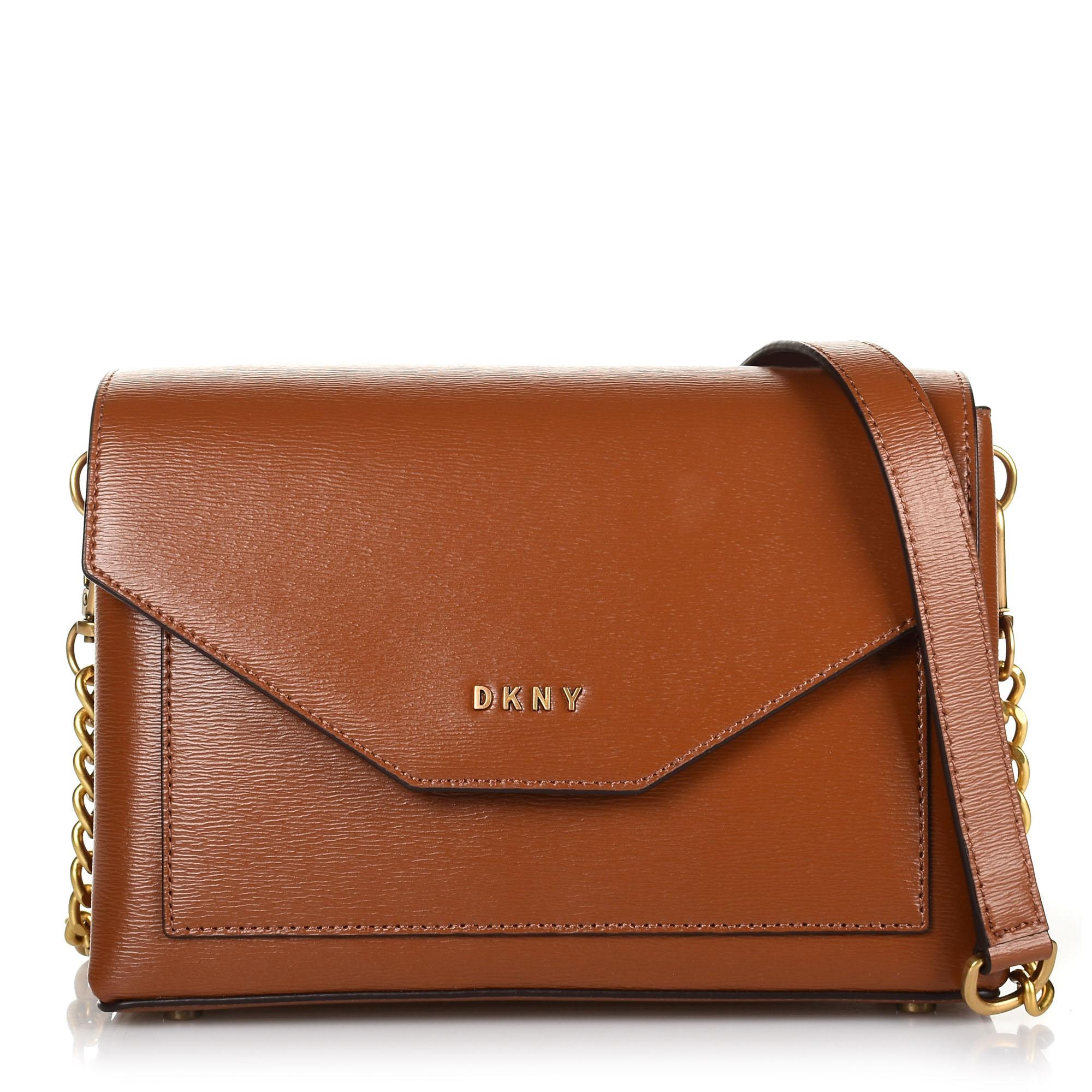 Δερμάτινη Τσάντα Ώμου-Χιαστί DKNY Alexa R93E3D61