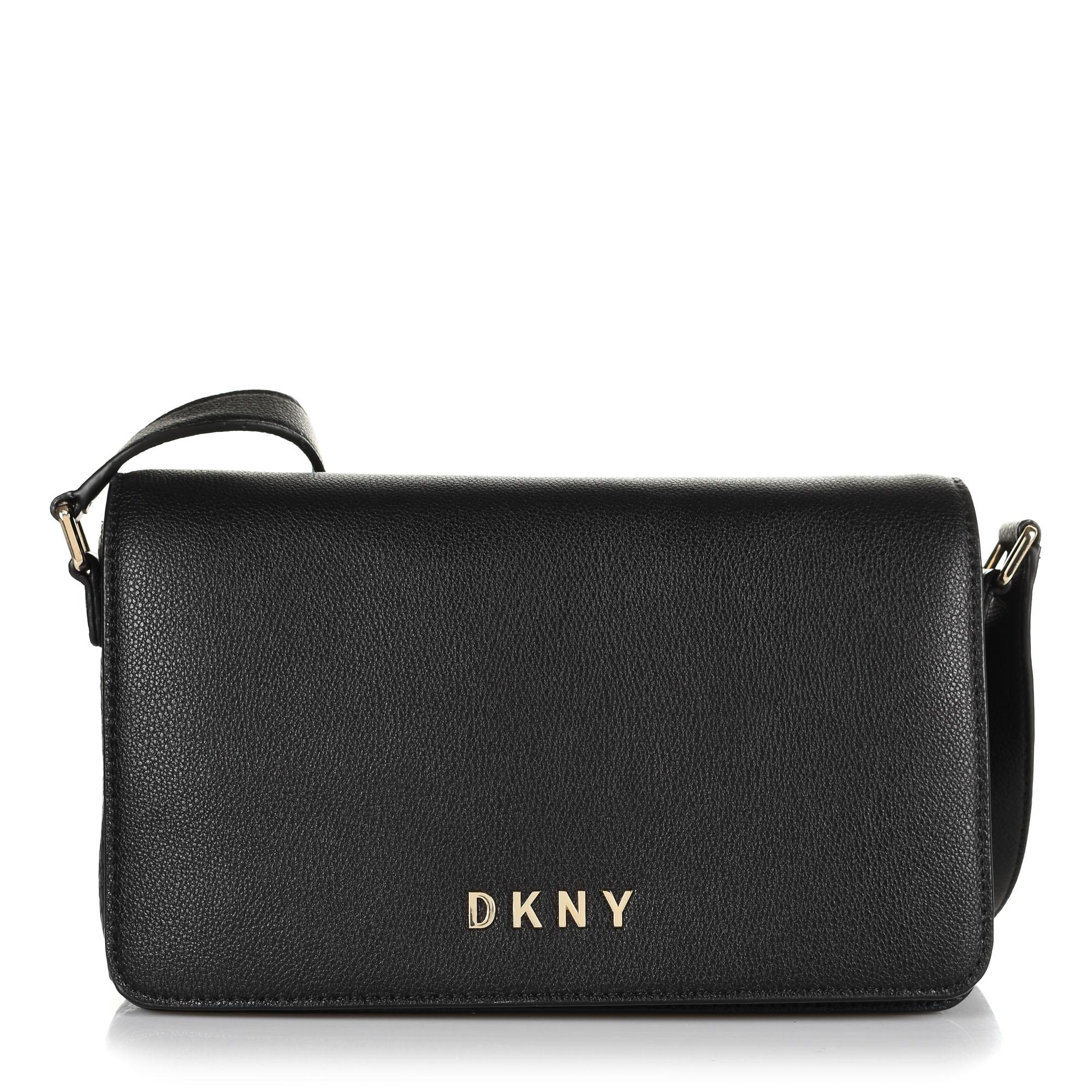 Δερμάτινη Τσάντα Ώμου-Χιαστί DKNY Clara R933SD83