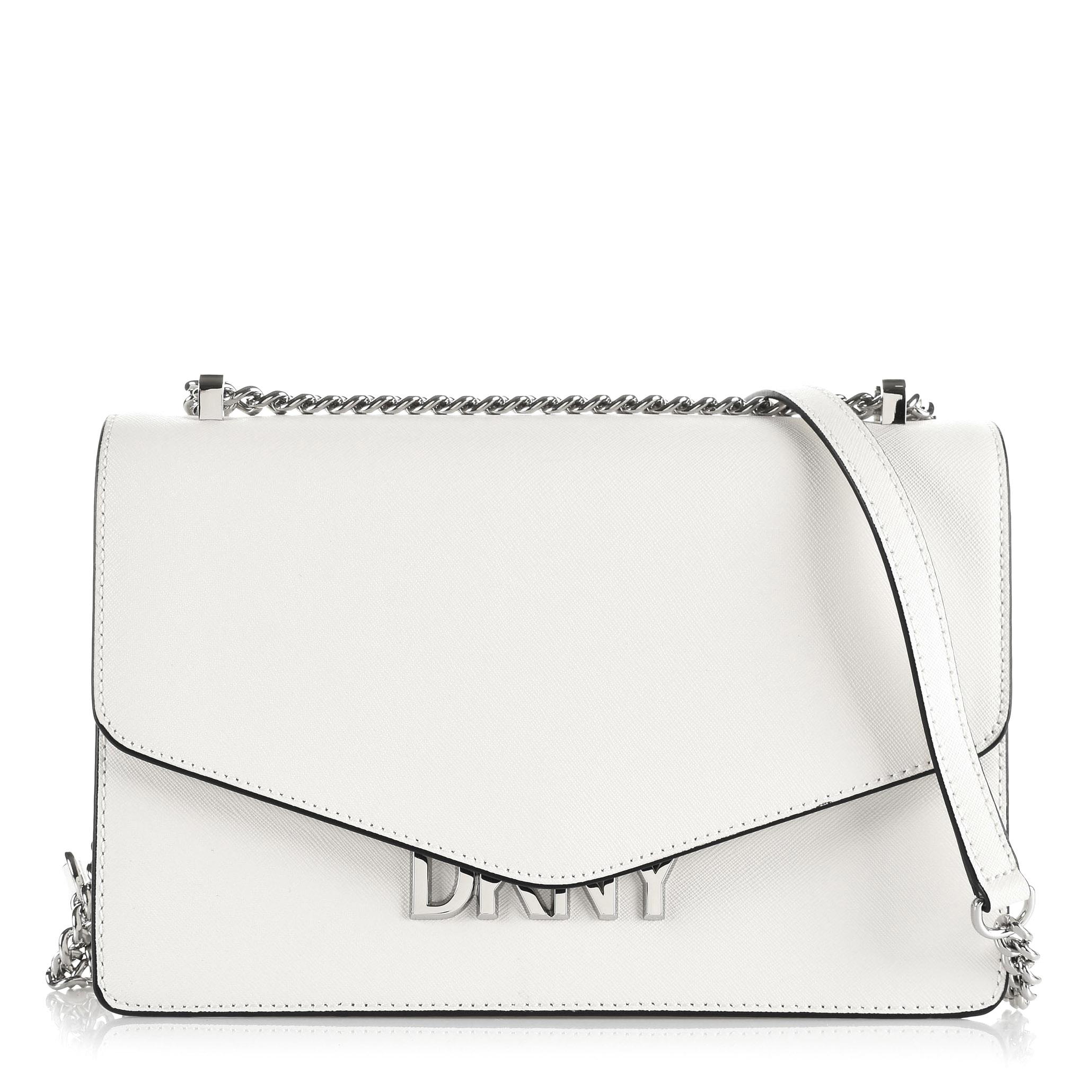 Δερμάτινη Τσάντα Ώμου-Χιαστί DKNY Penelope R9431F75
