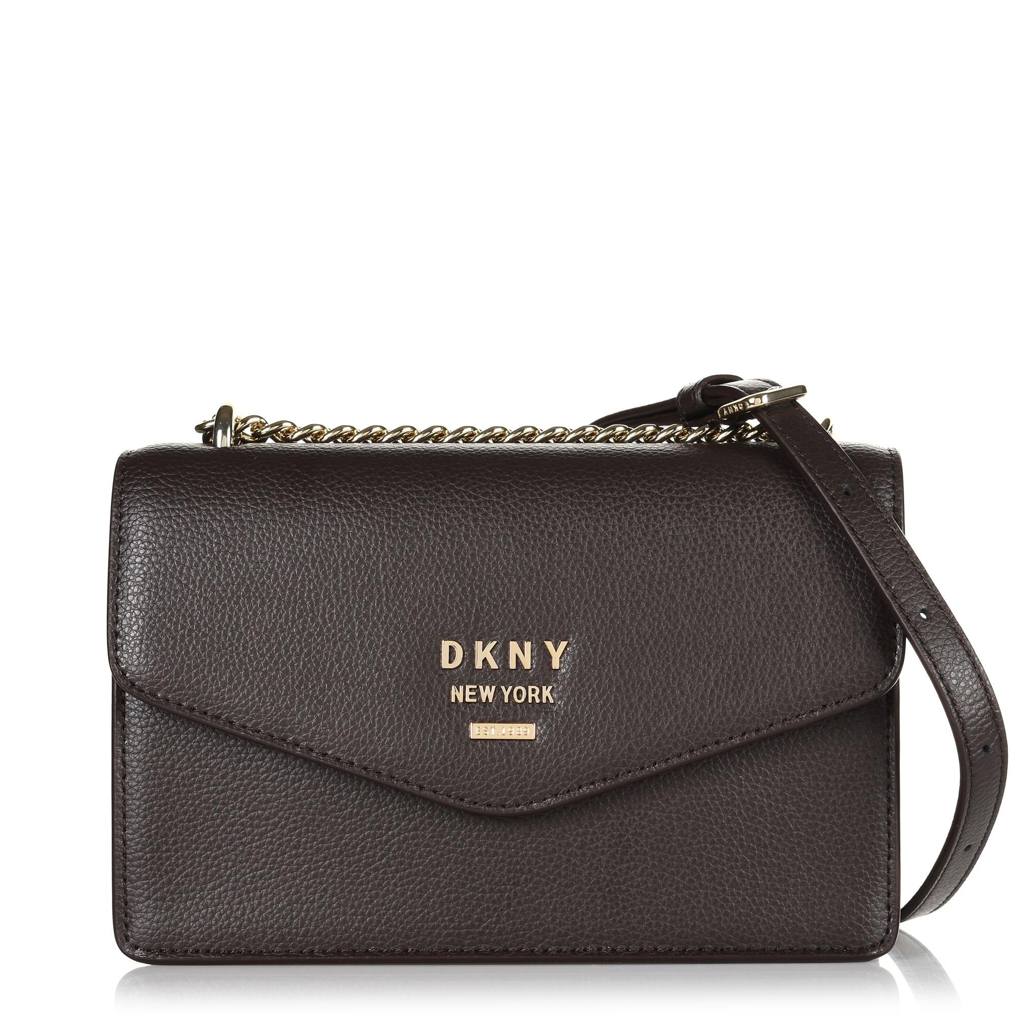 Δερμάτινη Τσάντα Ώμου-Χιαστί DKNY Whitney R93EHE27