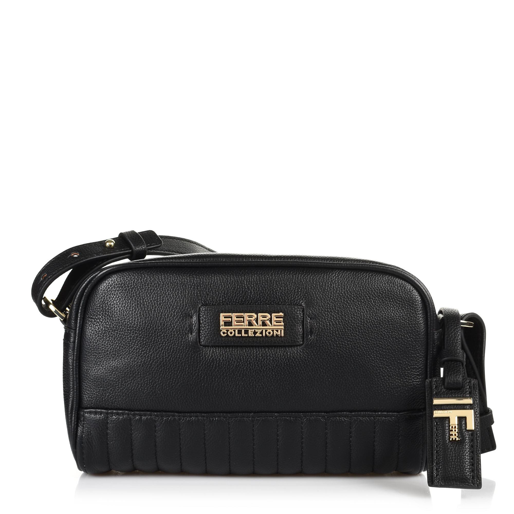 Δερμάτινη Τσάντα Ώμου-Χιαστί Ferre Kalli IFD1M4.000