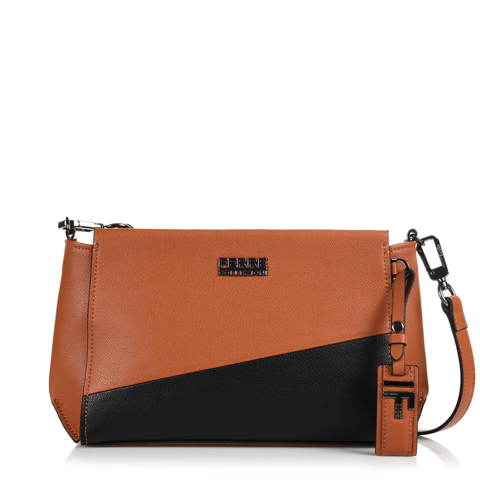 fbdb78a01c Brand Bags Δερμάτινη Τσάντα Ώμου-Χιαστί Ferre Volga IFD1N5.045