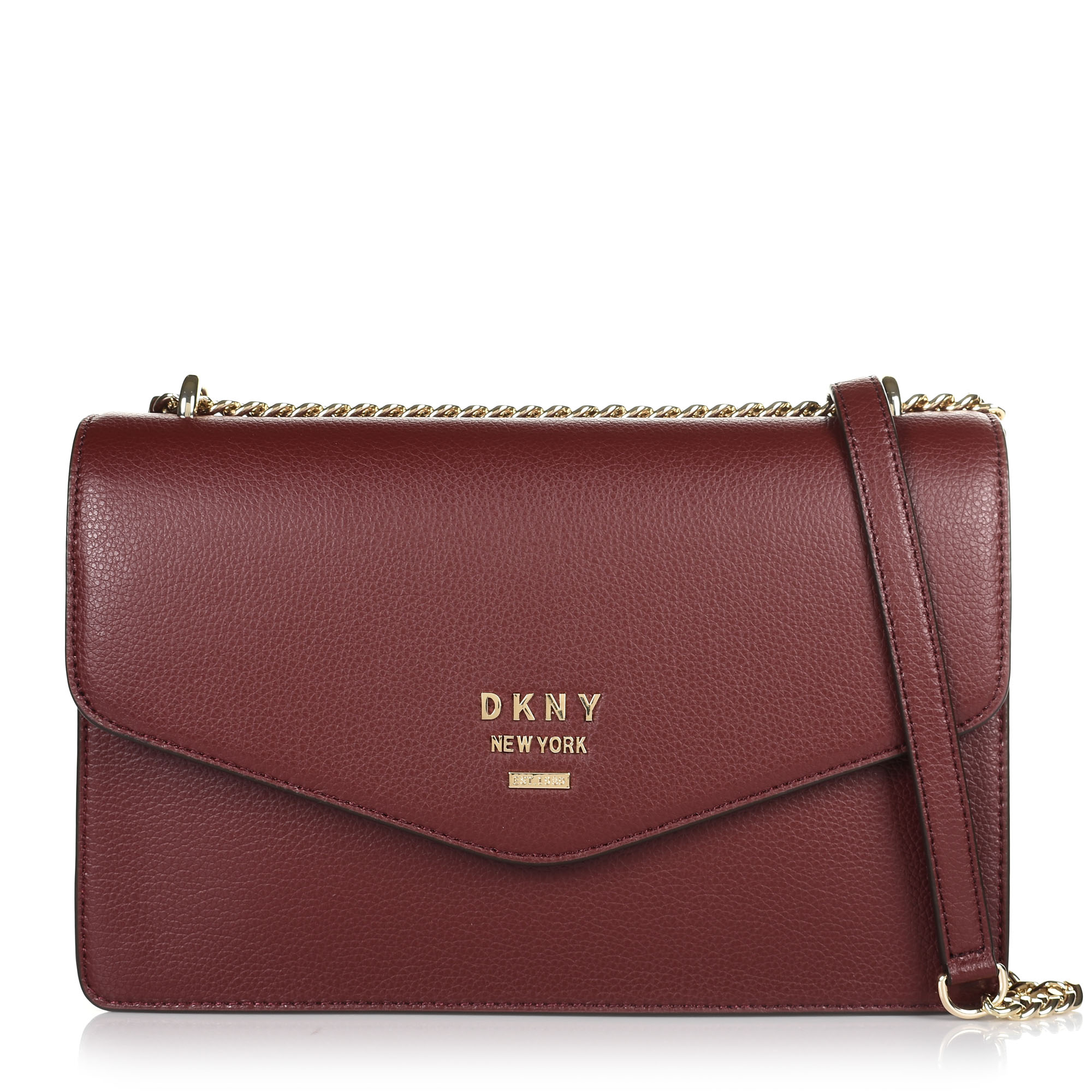 Δερμάτινη Τσάντα Ώμου-Χιαστί DKNY R913H988