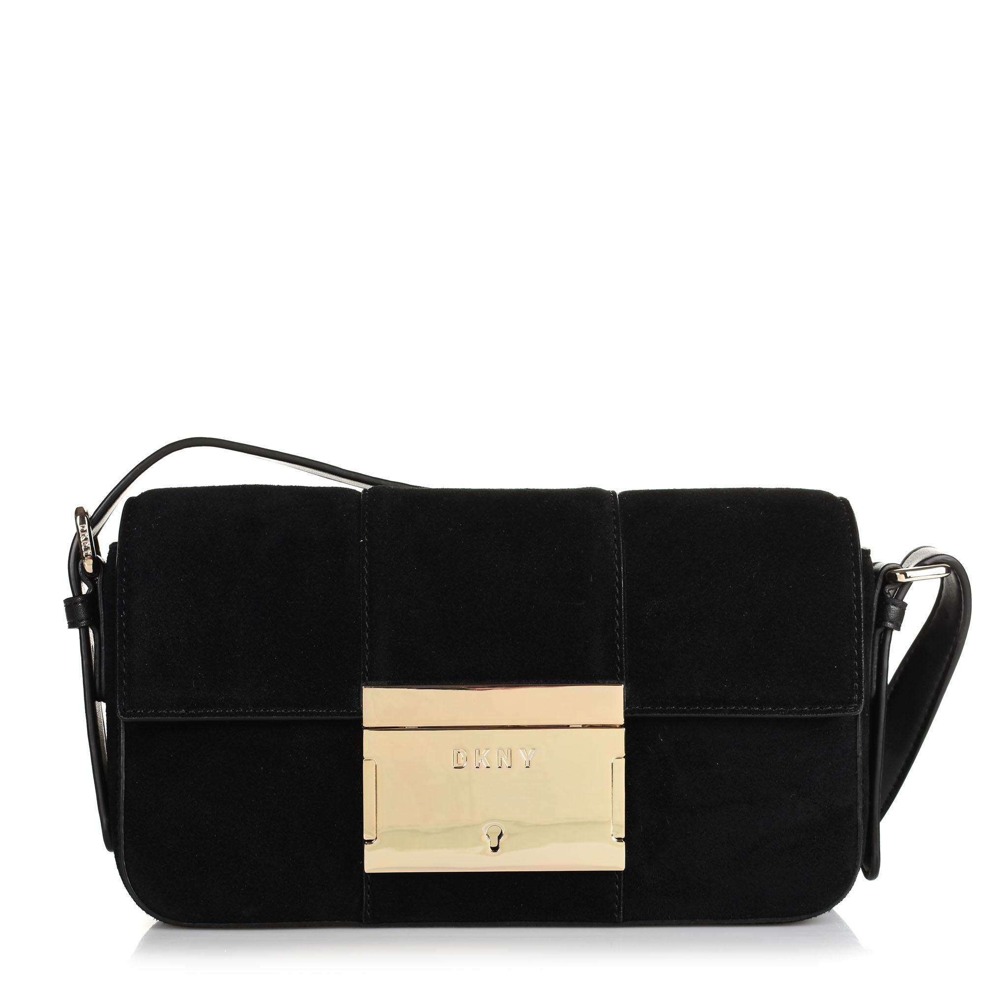 Δερμάτινη Τσάντα Ώμου DKNY Adam R93HMD56