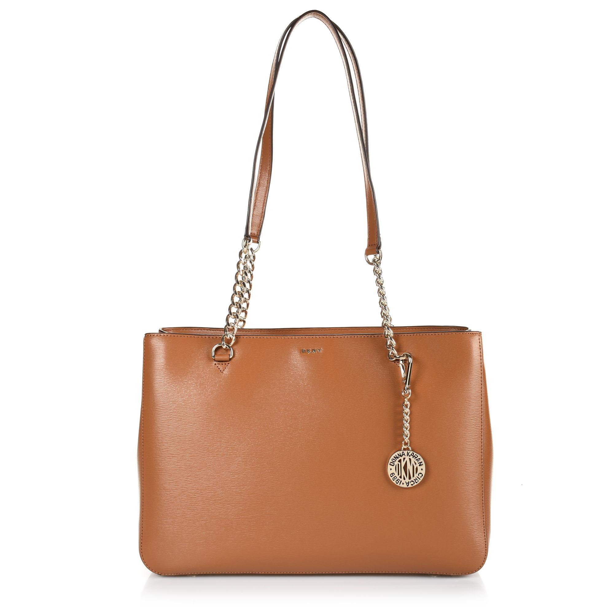 Δερμάτινη Τσάντα Ώμου DKNY R74A3008