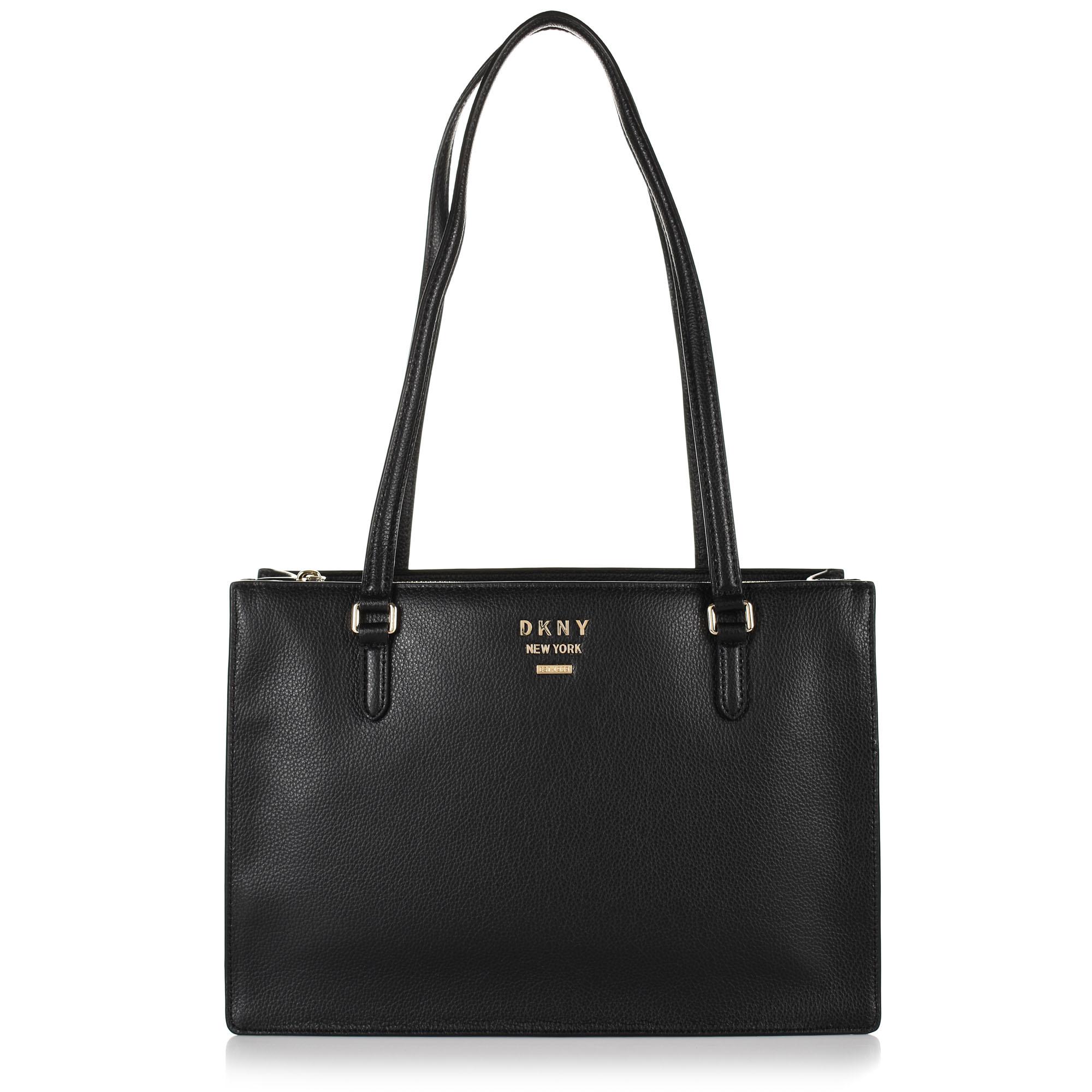 Δερμάτινη Τσάντα Ώμου DKNY Whitney R94AHA94
