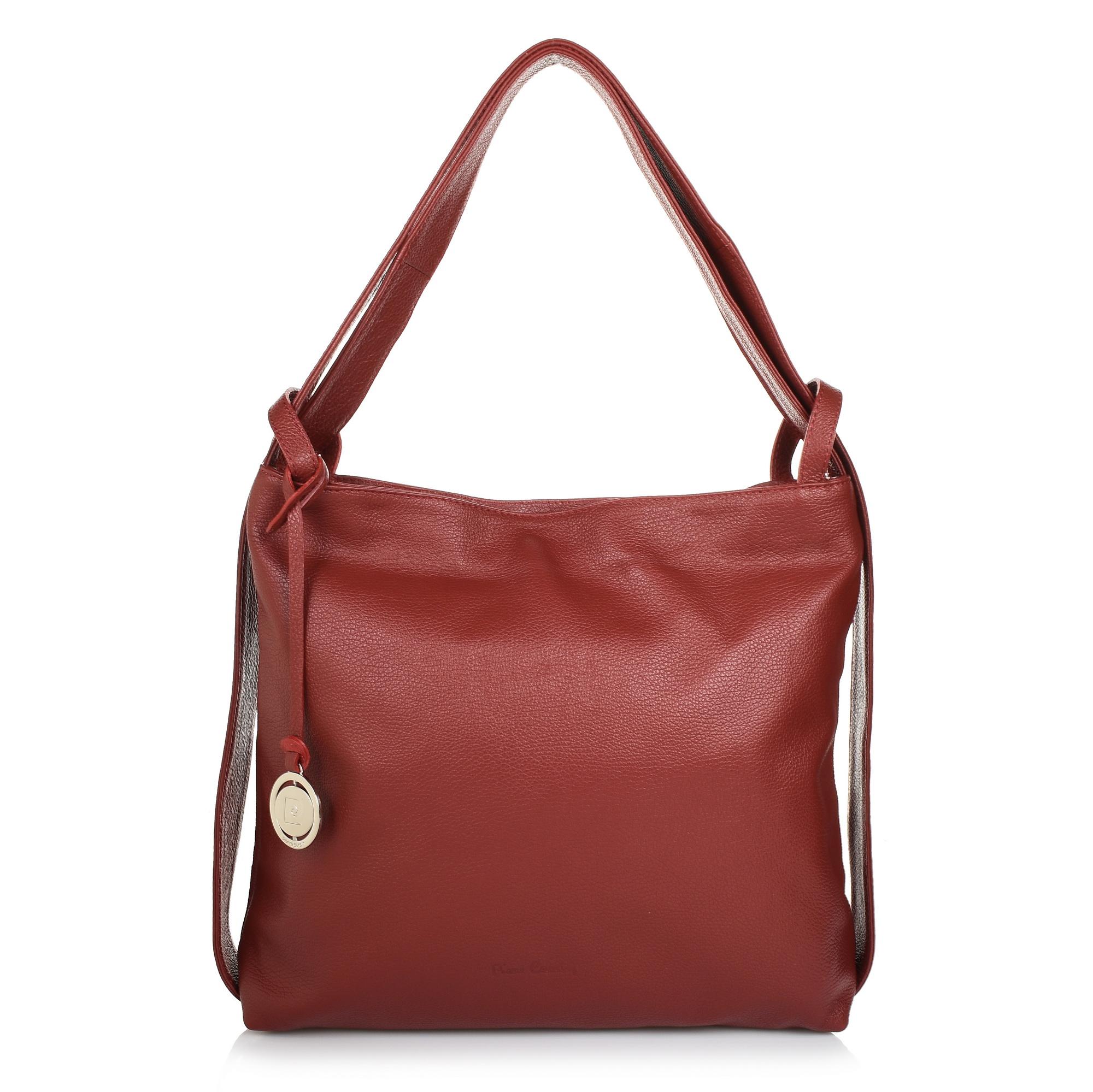 Δερμάτινη Τσάντα Ώμου Pierre Cardin PC1604 γυναικα   γυναικεία τσάντα