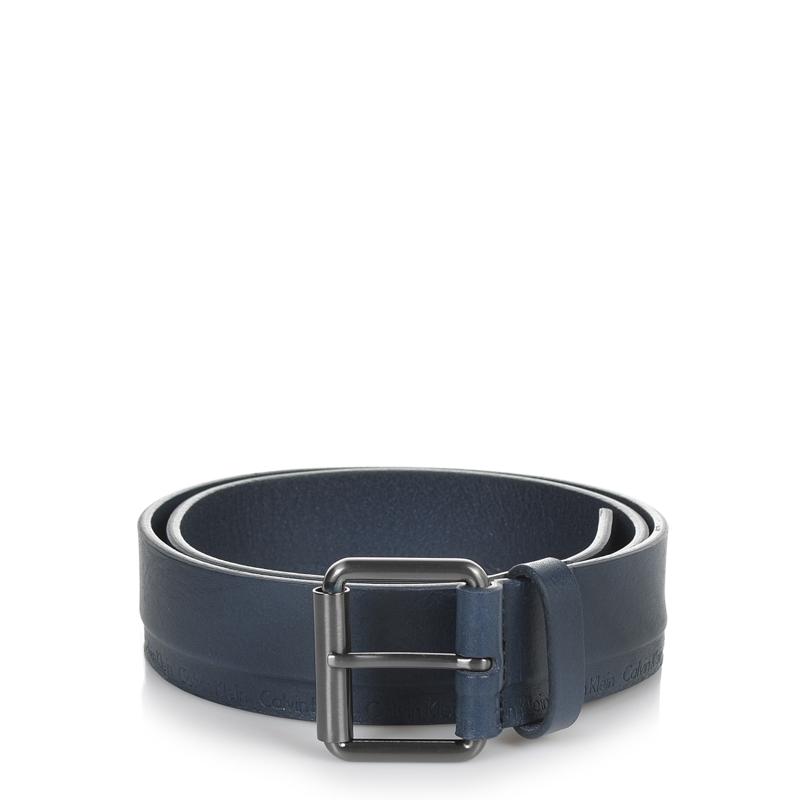 Δερμάτινη Ζώνη Calvin Klein 4rthur Roller Belt 000