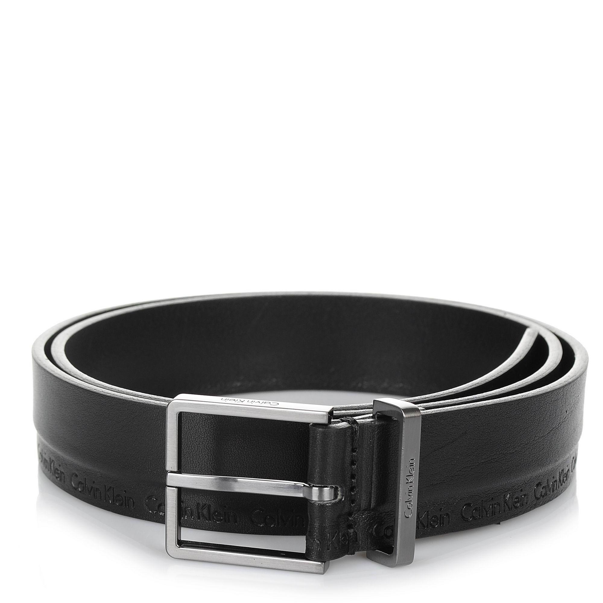 Δερμάτινη Ζώνη Calvin Klein Arthur Belt 3.5 cm K50K503715