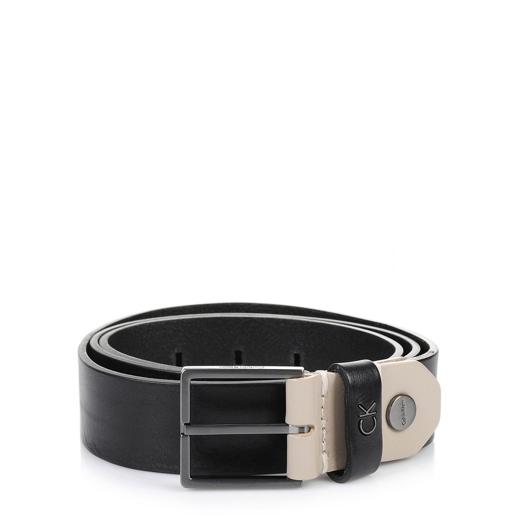 Δερμάτινη Ζώνη Calvin Klein Leon Adj. Belt 3.5 cm K50K503711