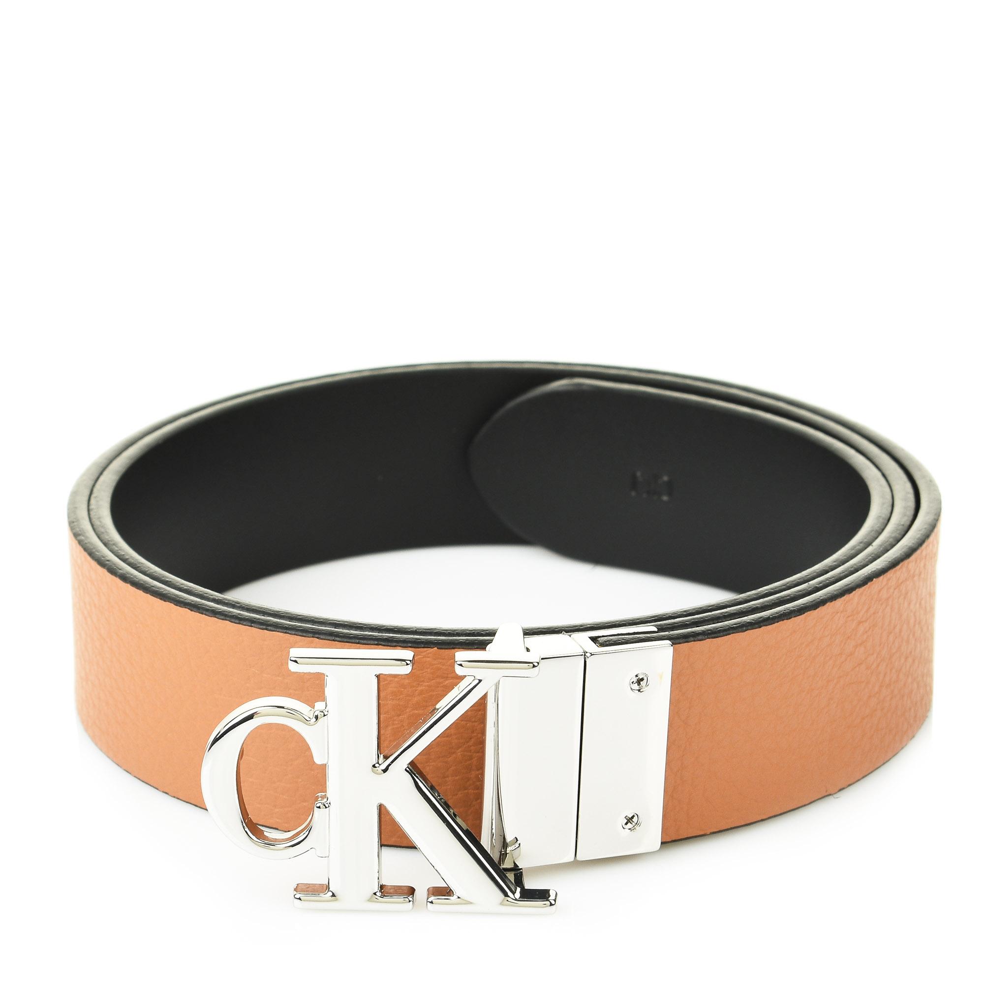 Δερμάτινη Ζώνη Διπλής Όψης Calvin Klein K60K607601