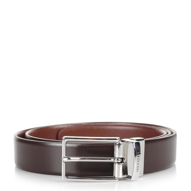 Δερμάτινη Ζώνη Tommy Hilfiger Tld Mini Check Belt 3.0CM Rev AM02780