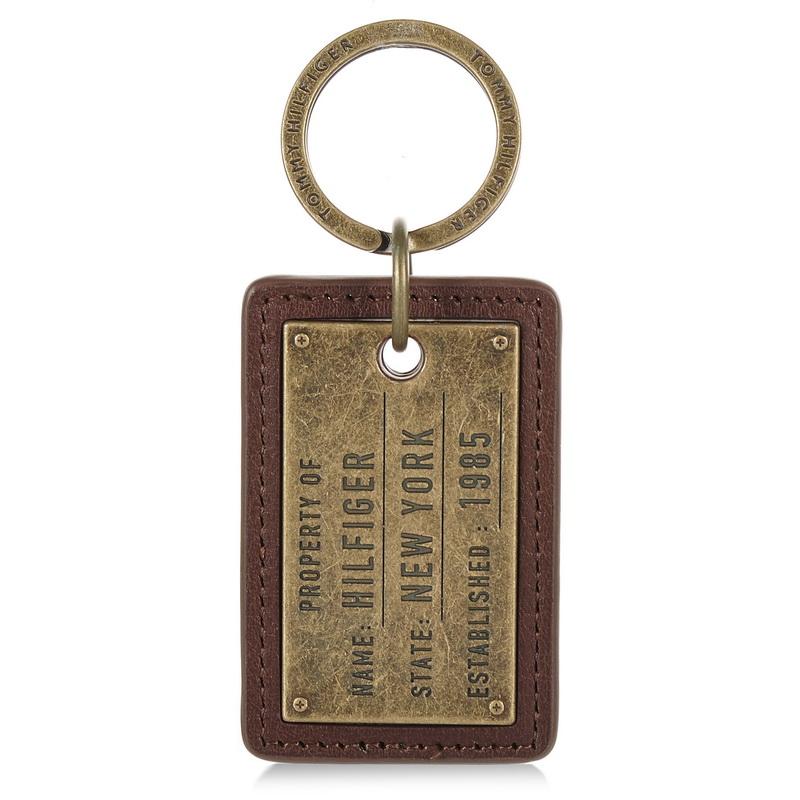 Δερμάτινο Μπρελόκ Tommy Hilfiger Property Keyfob AM02665 ανδρας   μπρελόκ