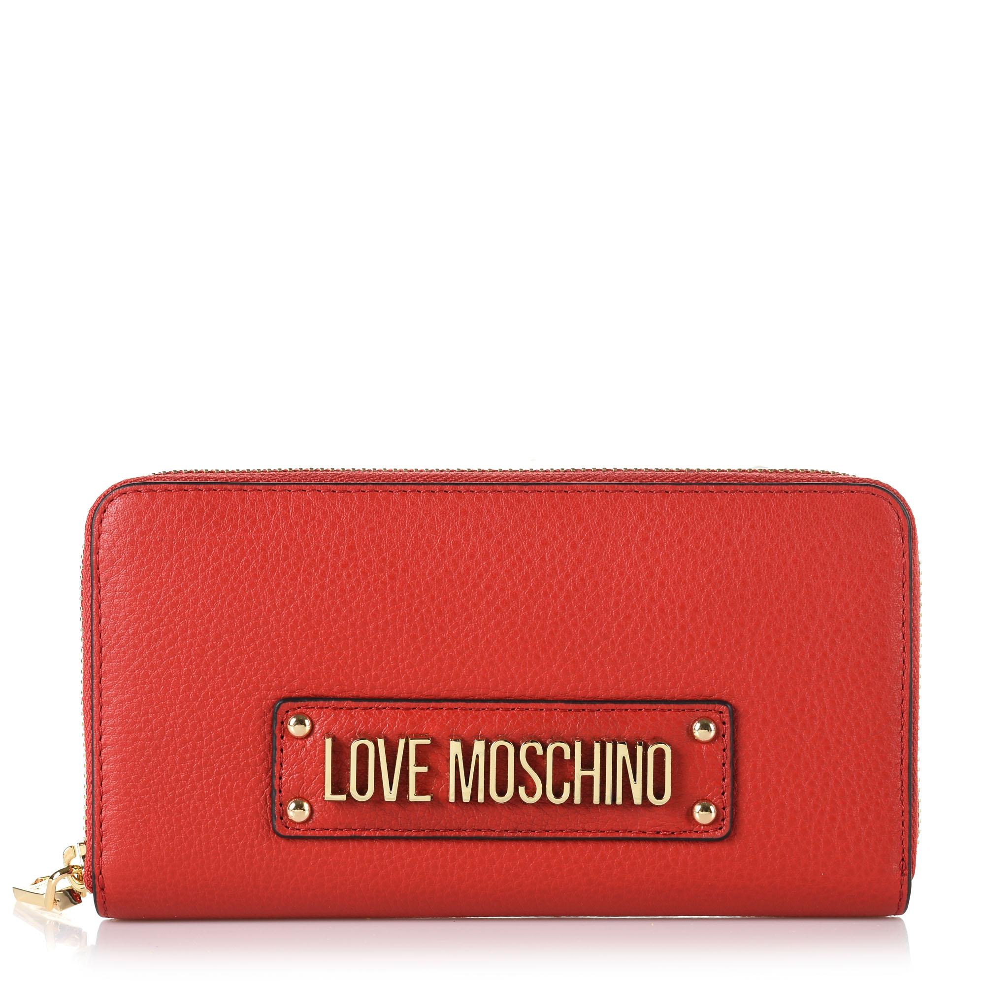Δερμάτινο Πορτοφόλι Κασετίνα Love Moschino Porta Vit JC5629PP17L6