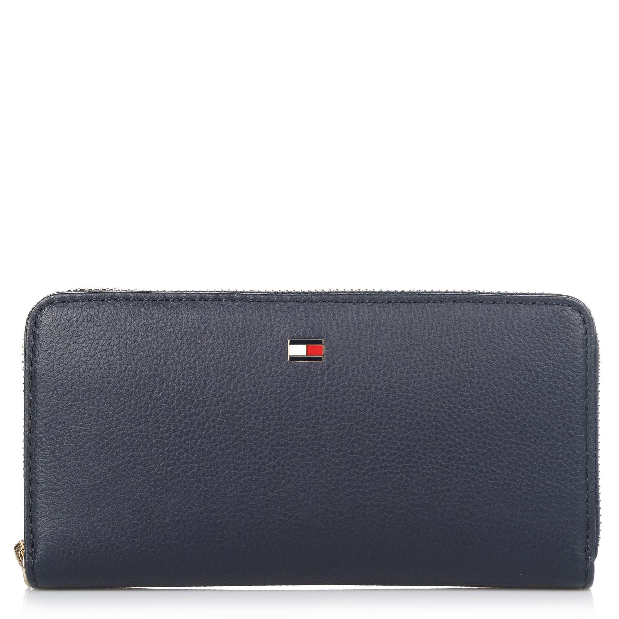 Δερμάτινο Πορτοφόλι Κασετίνα Tommy Hilfiger Basic Leather Large ZA Wallet FW0FW04283