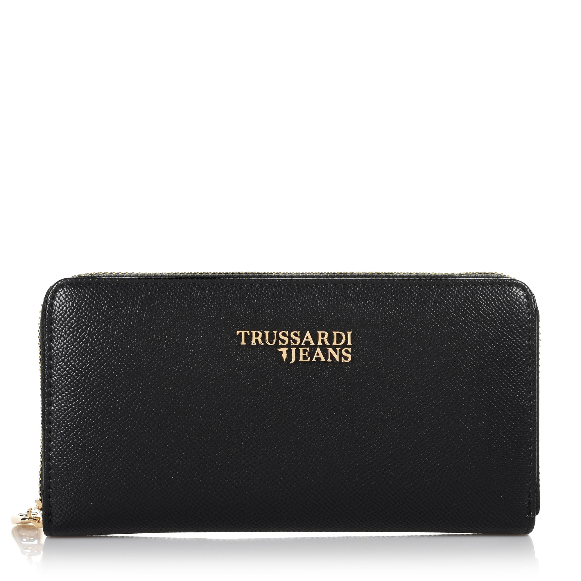 Δερμάτινο Πορτοφόλι Κασετίνα Trussardi Jeans T Easy Light 3 Pocket LG Saffiano 7 γυναικα   γυναικείο πορτοφόλι