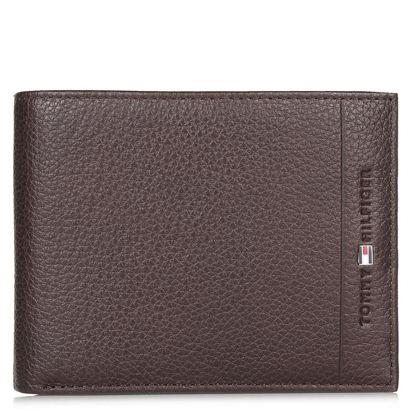 Δερμάτινο Πορτοφόλι Tommy Hilfiger Core CC Flap and Coin Pocket AM02398 ανδρας   ανδρικό πορτοφόλι