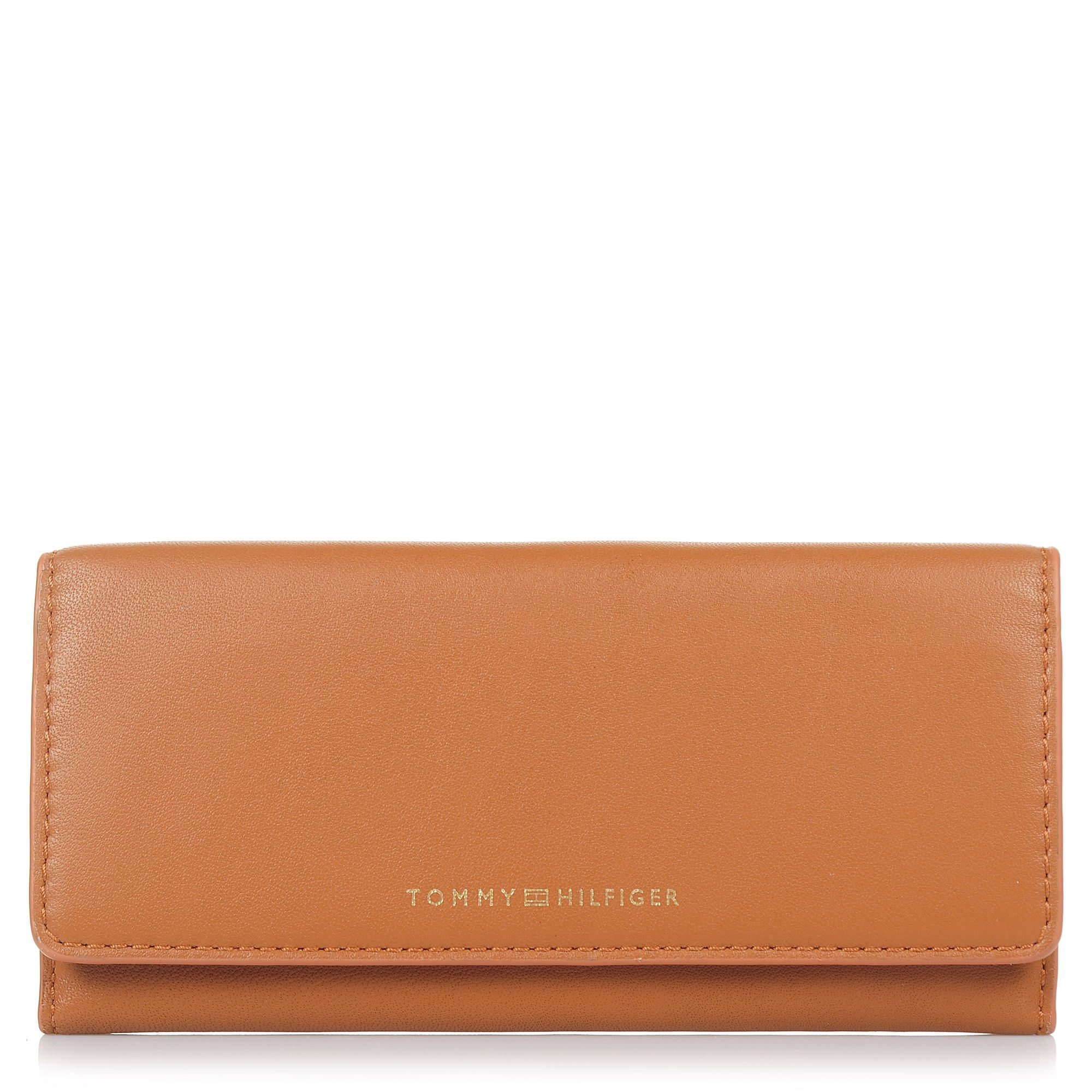 Δερμάτινο Πορτοφόλι Tommy Hilfiger Smooth Leather Ew Slim Flap Wallet AW0ΑW05139