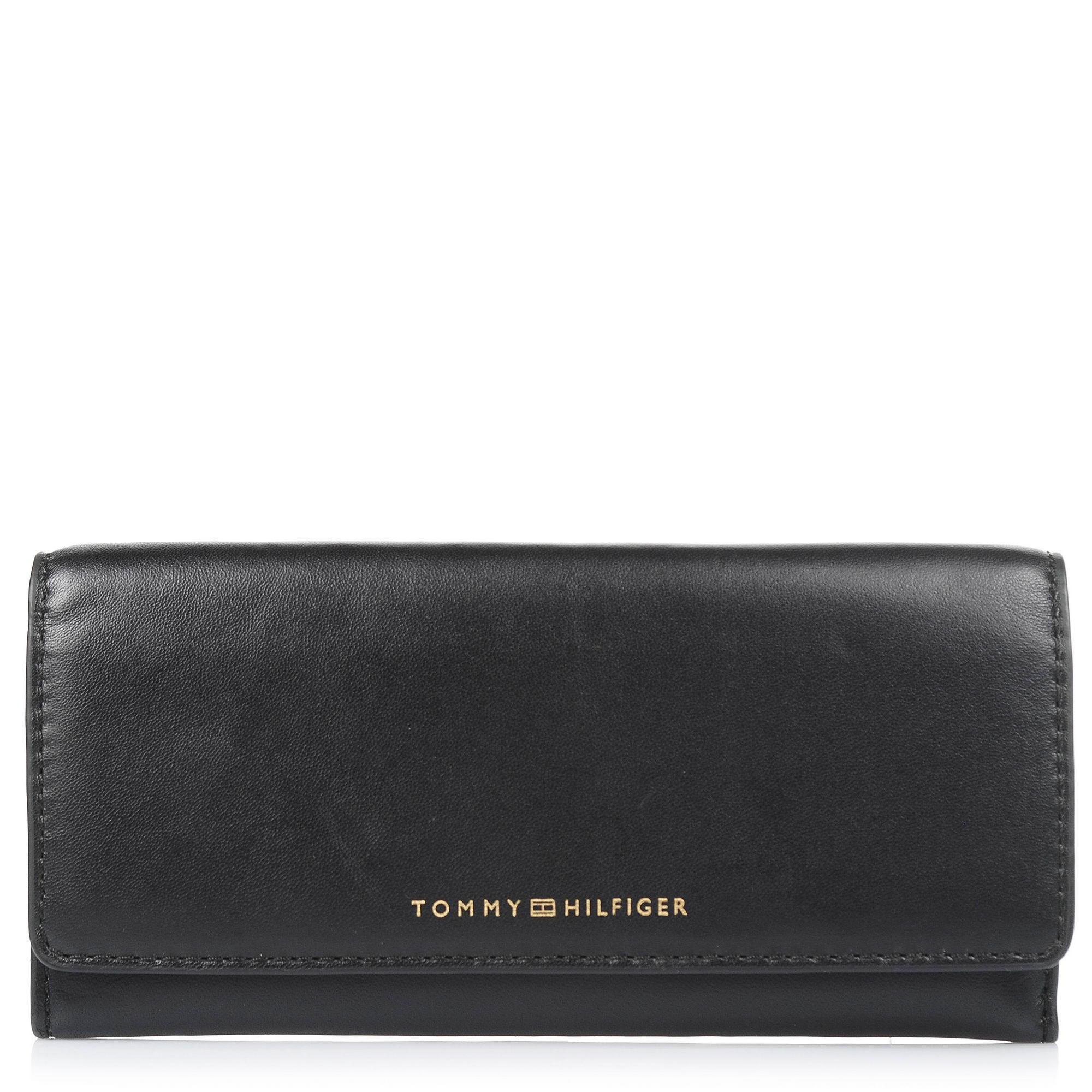 Δερμάτινο Πορτοφόλι Tommy Hilfiger Smooth Leather Ew Slim Flap Wallet AW0ΑW05139