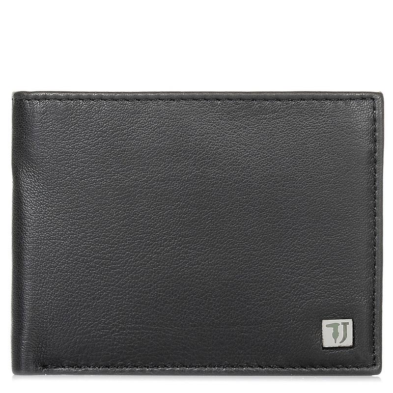 Δερμάτινο Πορτοφόλι Trussardi Jeans Wallet Credit Card Coin Pocket Bicolor 71W00 ανδρας   ανδρικό πορτοφόλι