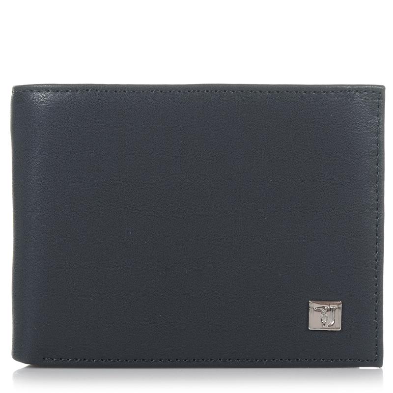 Δερμάτινο Πορτοφόλι Trussardi Jeans P002J5 ανδρας   ανδρικό πορτοφόλι