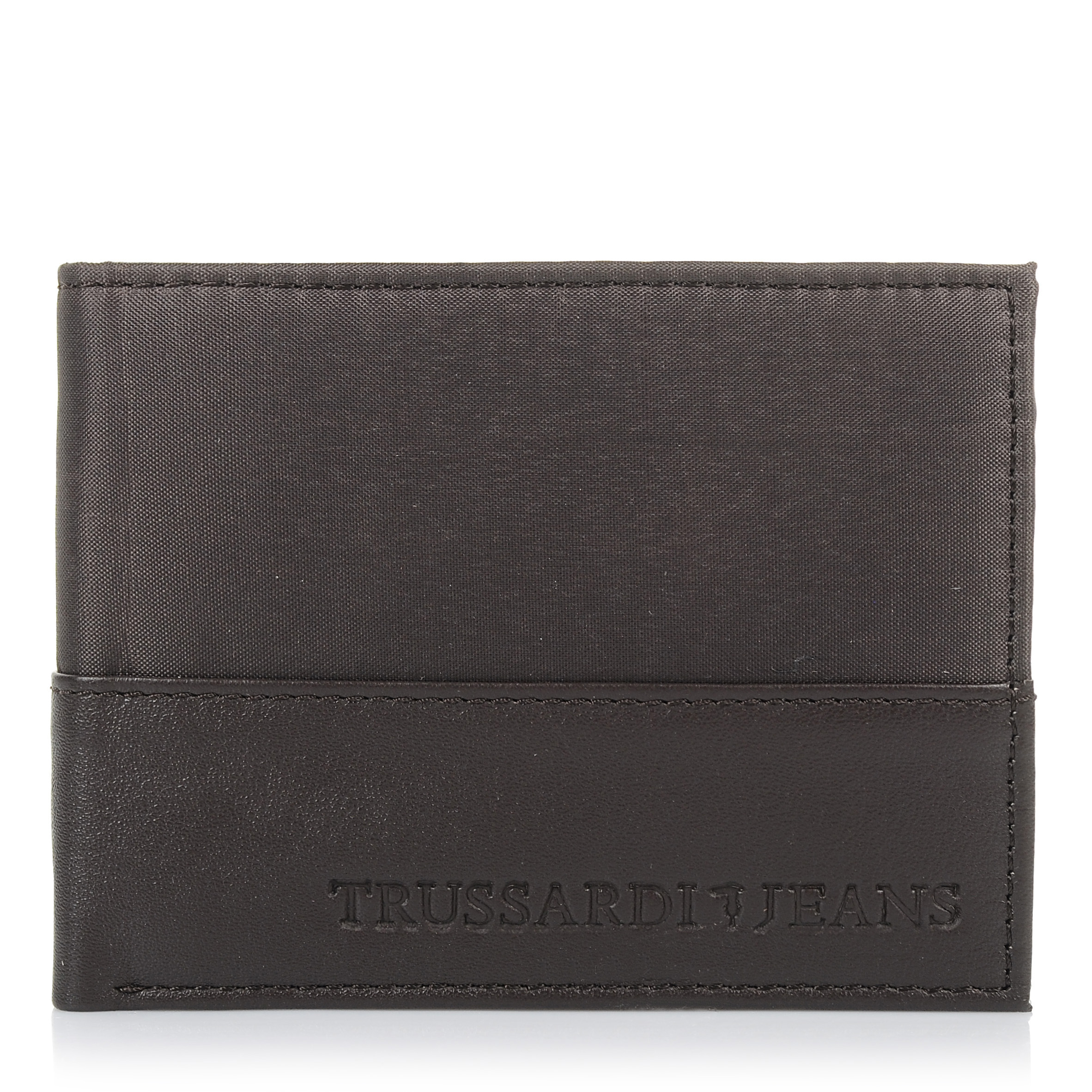 29b3d445d5 Δερμάτινο Πορτοφόλι Trussardi Jeans Wallet Credit Card Coin Pocket 71W00004
