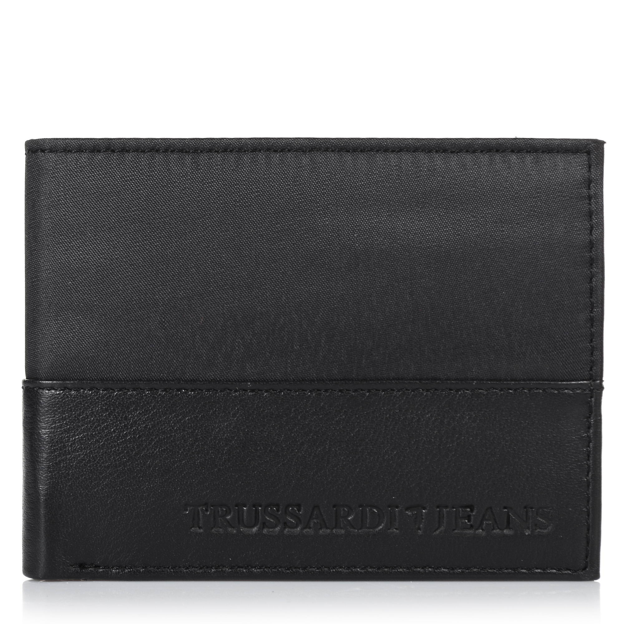 7d8b34922b Δερμάτινο Πορτοφόλι Trussardi Jeans Wallet Credit Card Coin Pocket 71W00004
