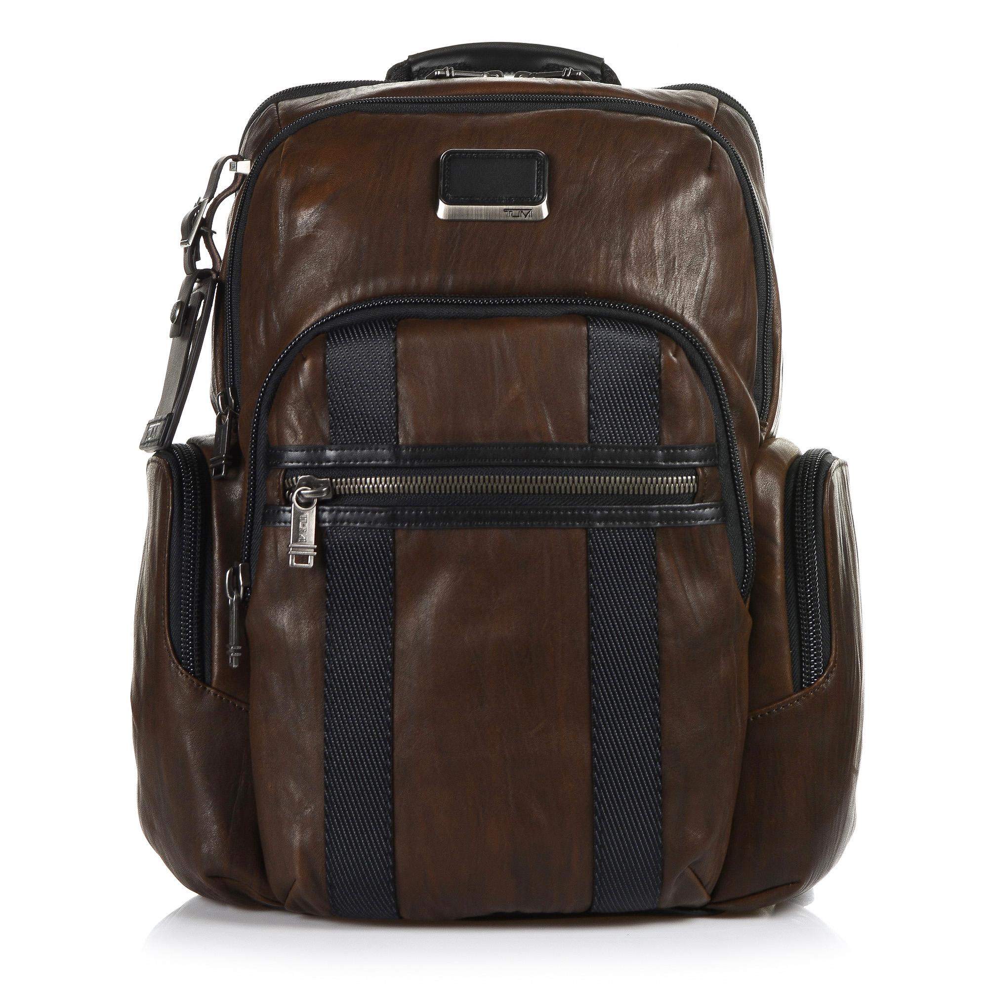 Δερμάτινο Σακίδιο Πλάτης Tumi ALPHA BRAVO Nellis Backpack Leather ... 44fe3c4ab95