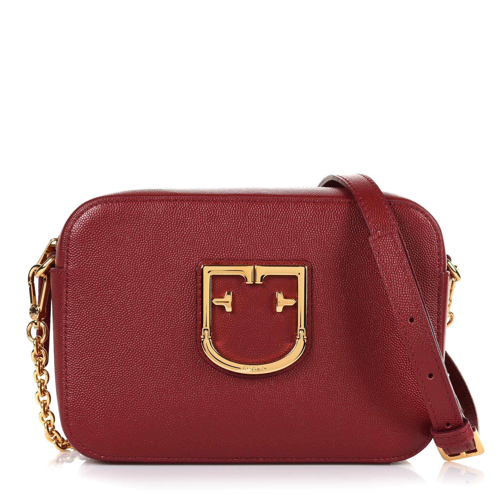 cb0da7a415 Brand Bags Δερμάτινο Τσαντάκι Ώμου-Χιαστί Furla 10139