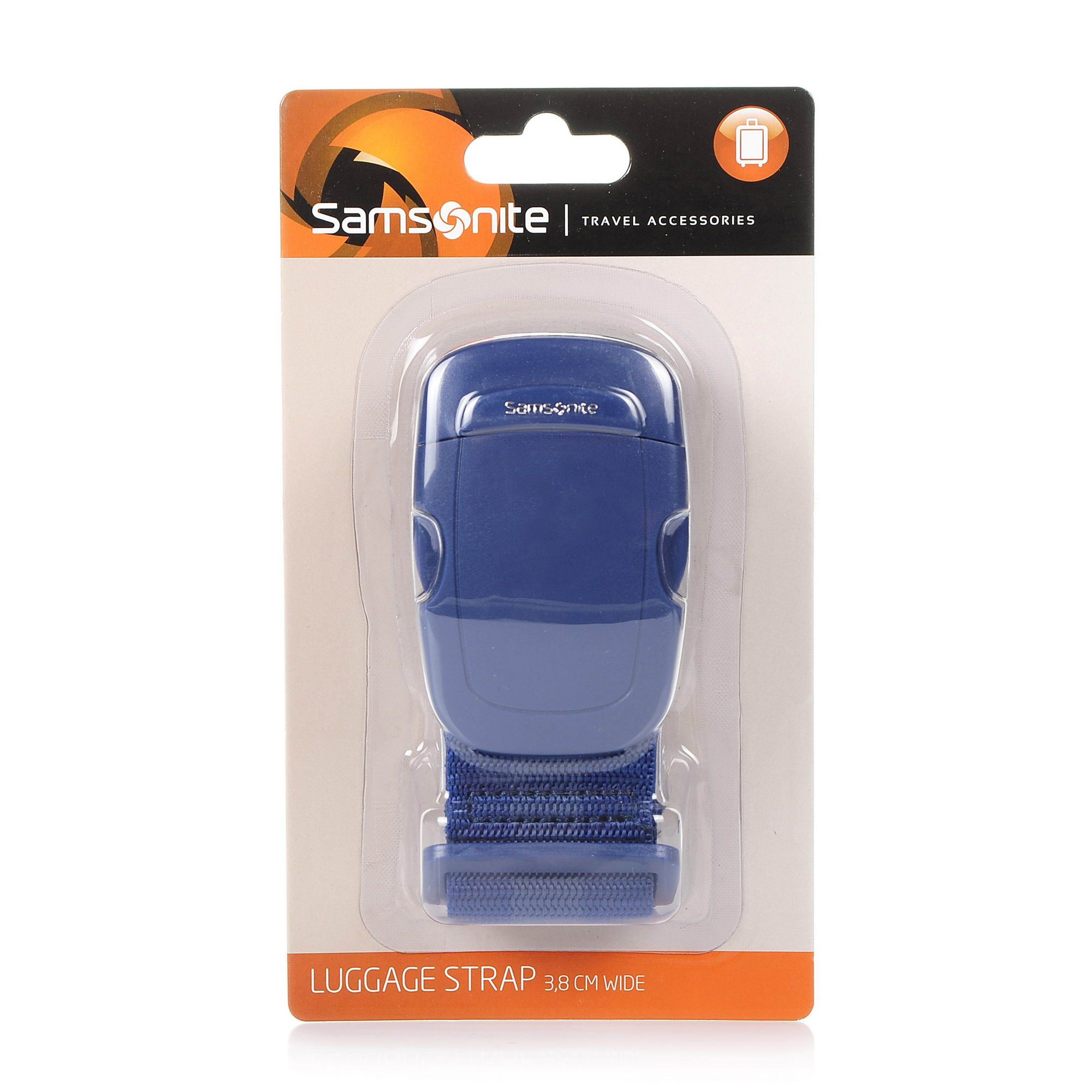 Ιμάντας Αποσκευών Samsonite Travel Accessories Luggage Strap 3,8 cm Wide 2 61609