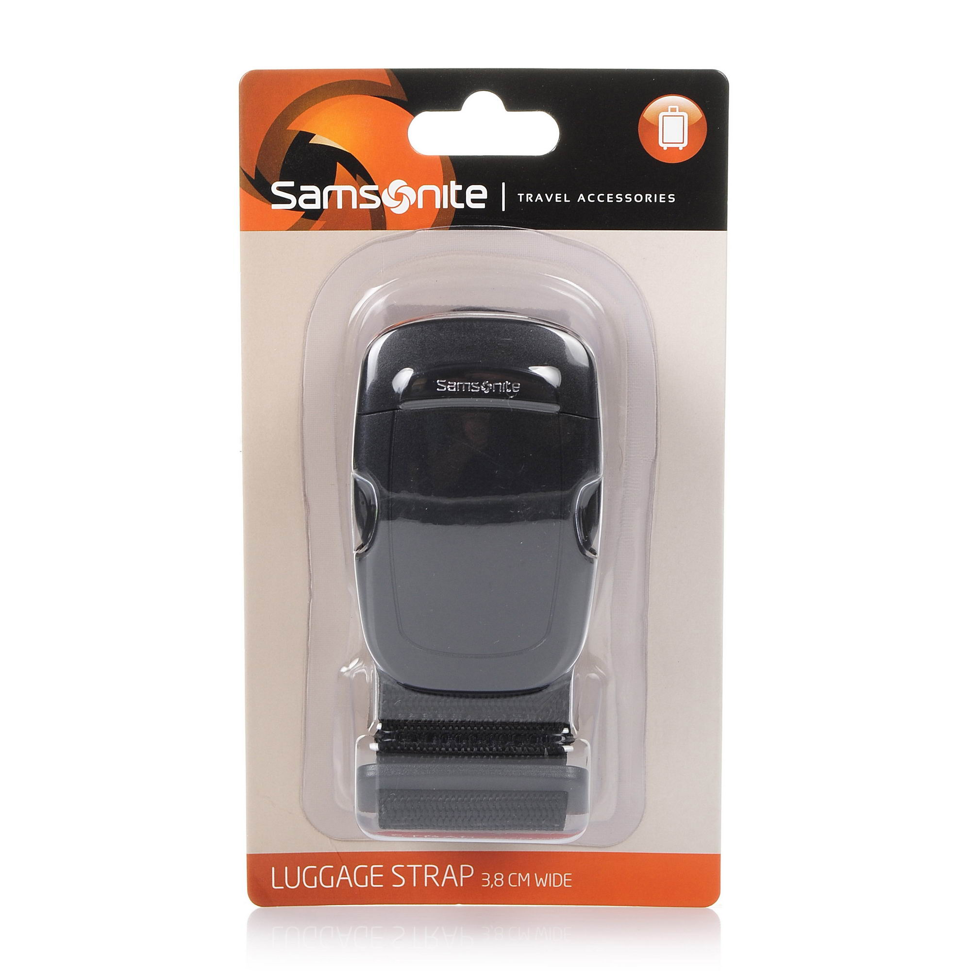 Ιμάντας Αποσκευών Samsonite Travel Accessories Luggage Strap 3,8 cm Wide 2 61609 αξεσουαρ   αξεσουάρ ταξιδίου