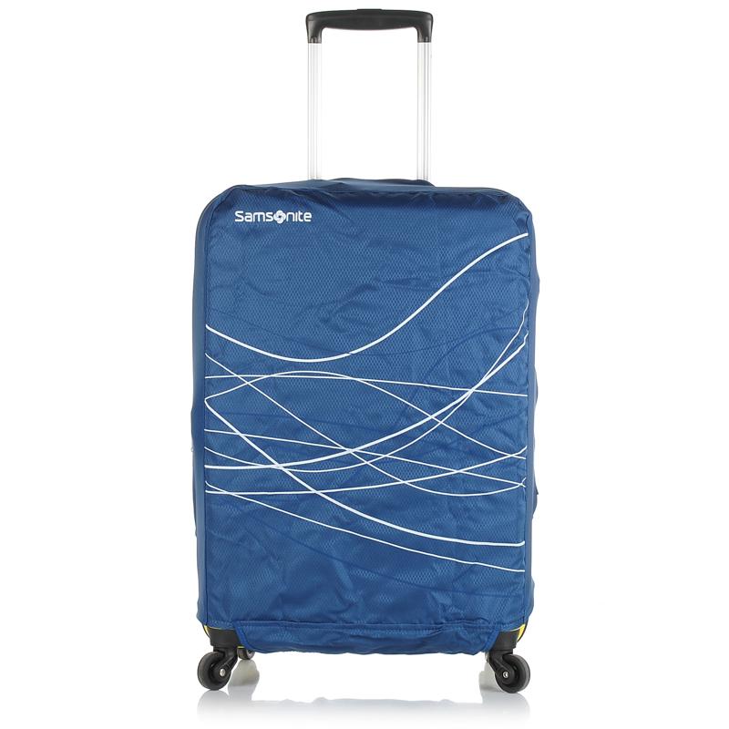Κάλυμμα Βαλίτσας Samsonite Travel Acc. 5 Fordable Luggage Cover M 63221 ειδη ταξιδιου   κάλυμμα βαλίτσας