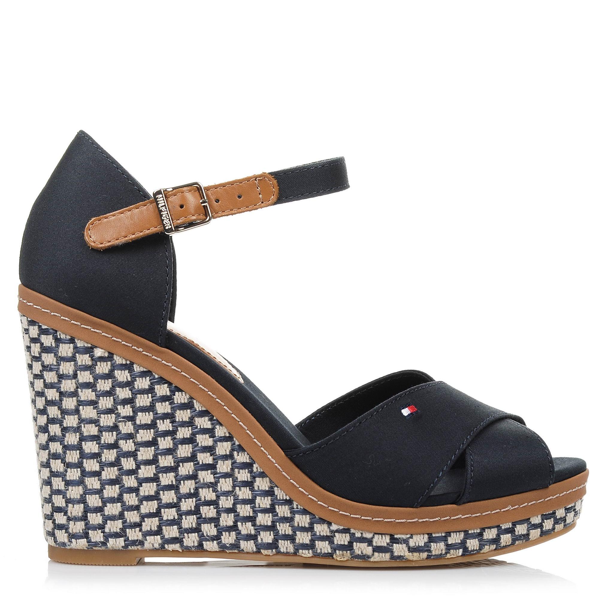 Πλατφόρμες Tommy Hilfiger Iconic Elena Basic FW0FW02652 γυναικα   γυναικείο παπούτσι