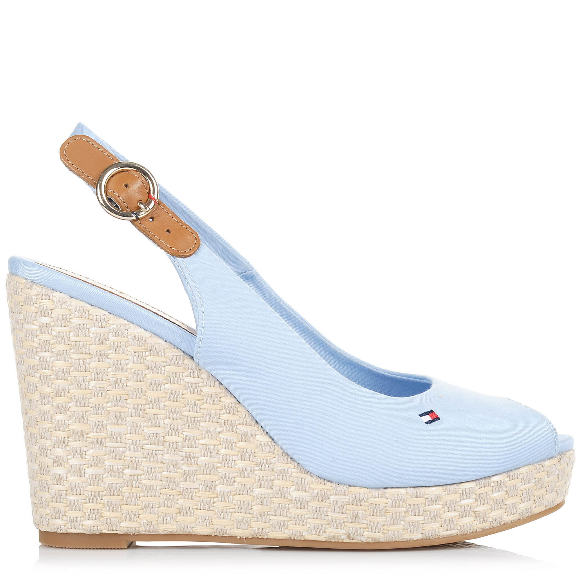 Πλατφόρμες Tommy Hilfiger Iconic Elena Basic Sling Bacl FW0FW02787 γυναικα   γυναικείο παπούτσι
