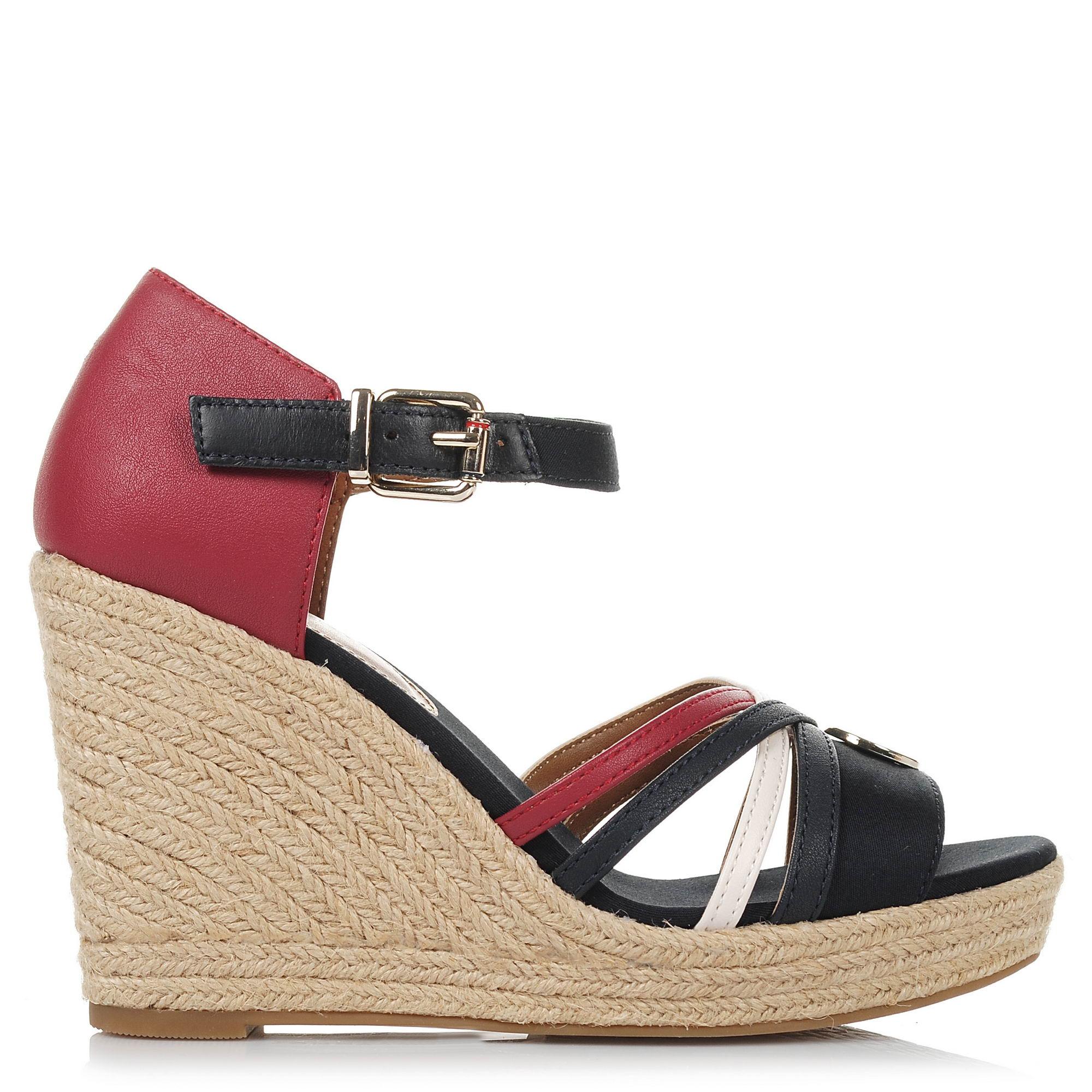 Πλατφόρμες Tommy Hilfiger Iconic Elena Straps Sandals FW0FW02425 γυναικα   γυναικείο παπούτσι