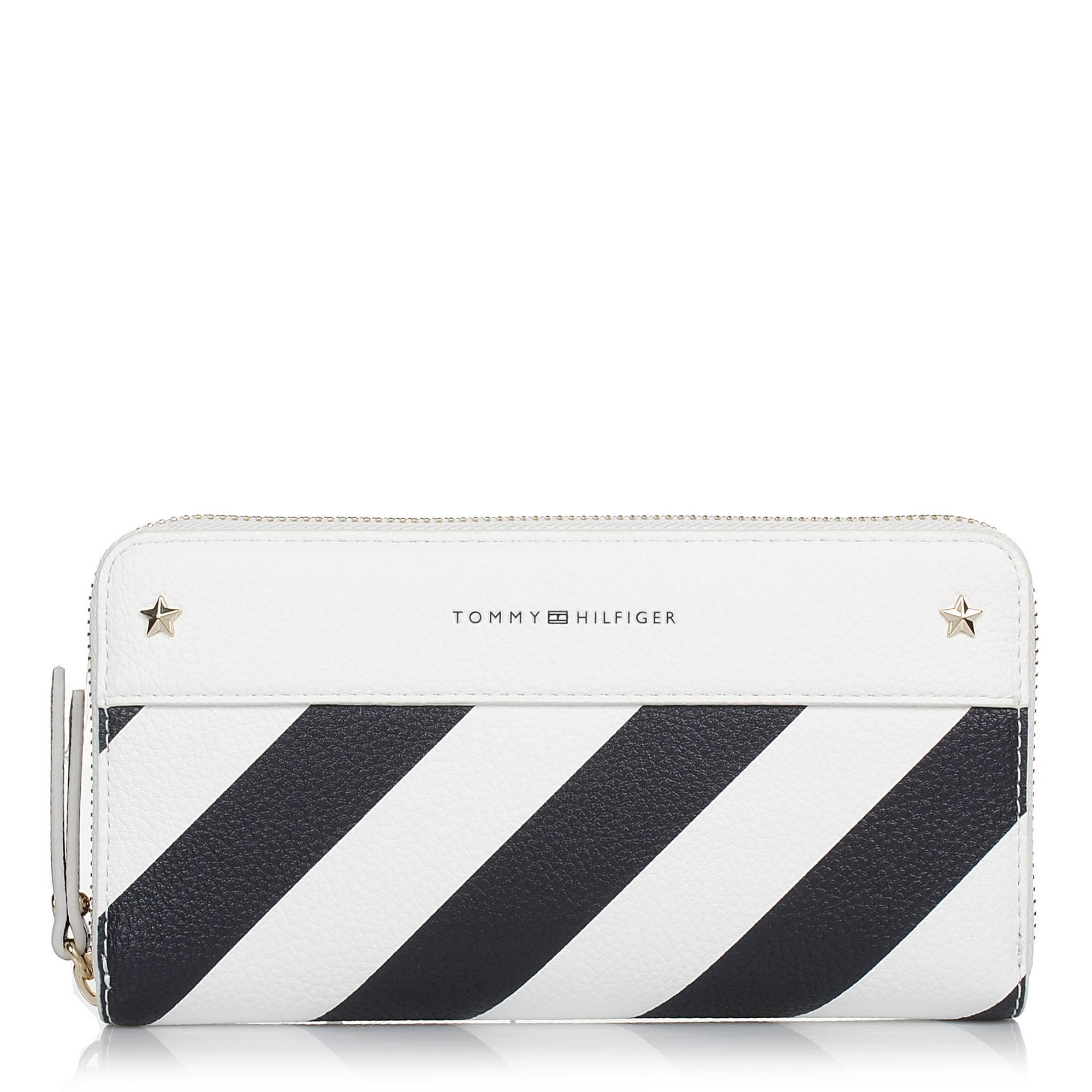 Πορτοφόλι Κασετίνα Tommy Hilfiger Cool Hardware ZA Wallet Stripe AW0AW05301