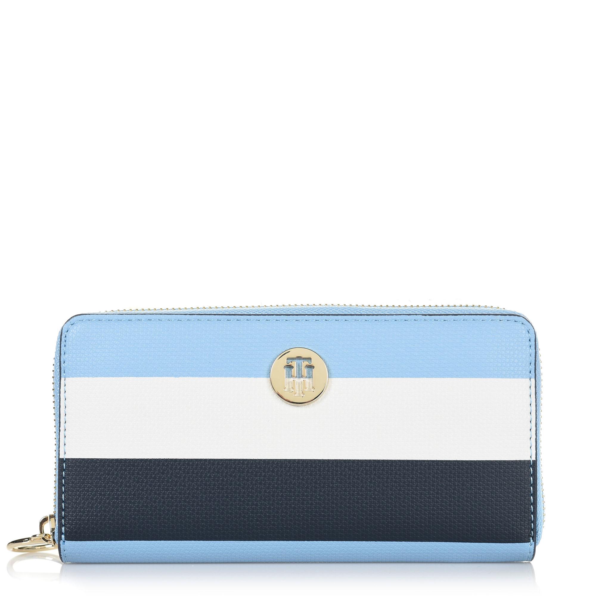 Πορτοφόλι Kασετίνα Tommy Hilfiger Effortless Saffiano ZA Wallet AW0AW06152 γυναικα   γυναικείο πορτοφόλι
