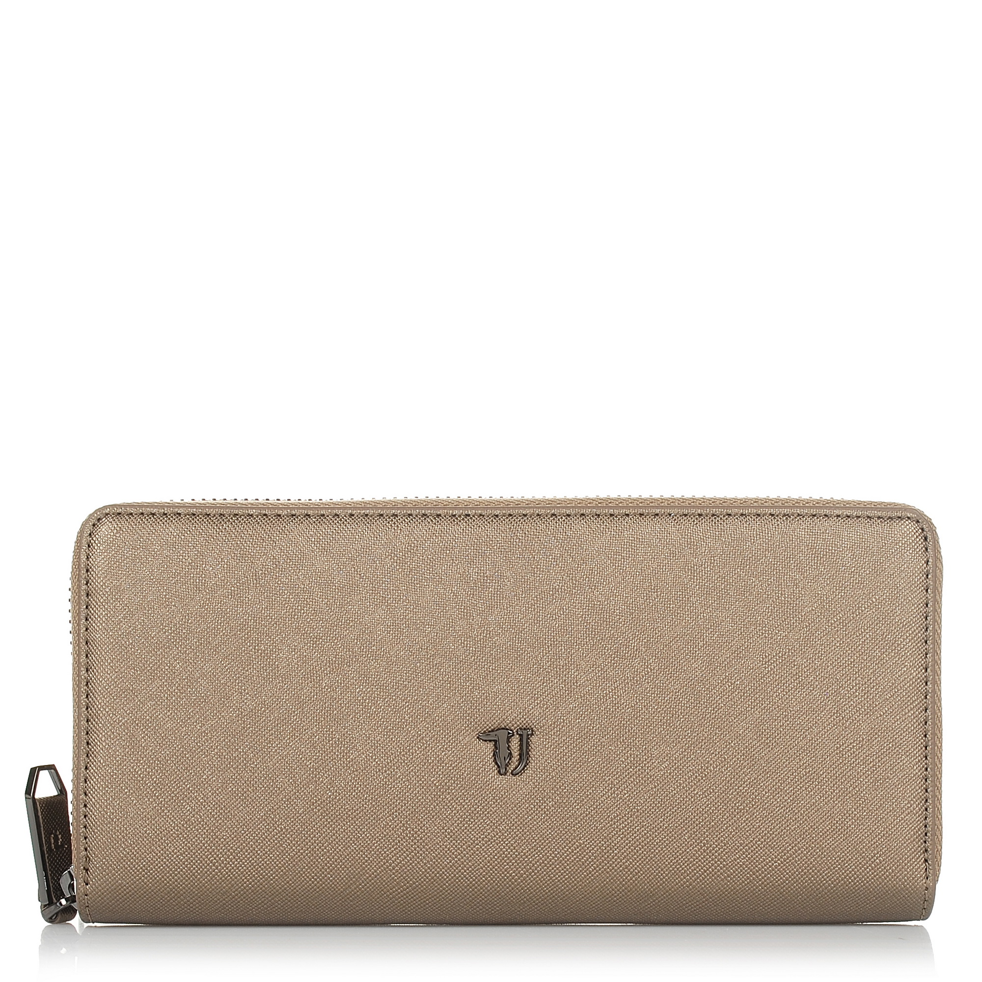 Πορτοφόλι Κασετίνα Trussardi Jeans Paprica Zip Around Wallet Ecoleather 75W00099