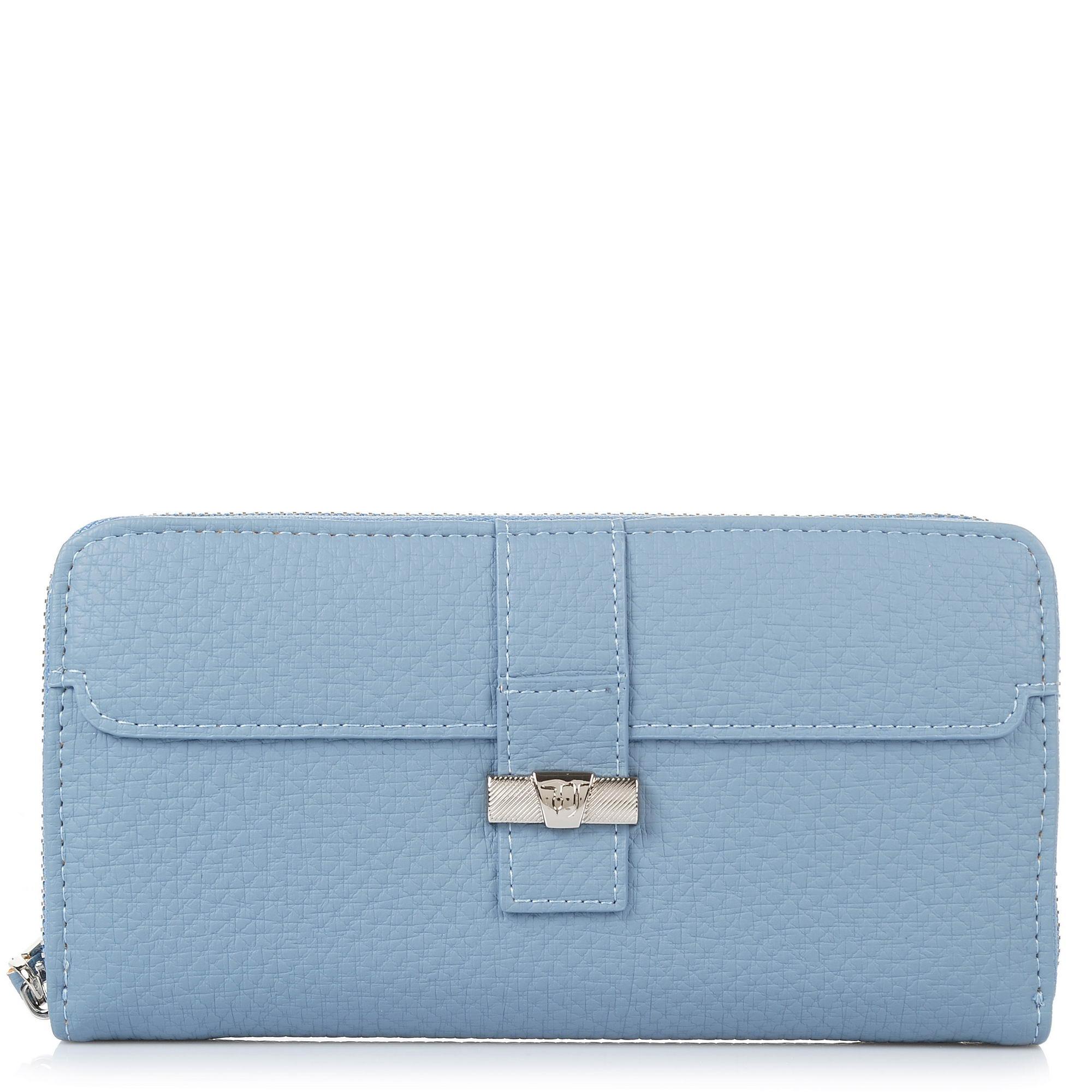 Πορτοφόλι Κασετίνα Trussardi Jeans Suzanne Ecoleather Smooth Wallet Zip Around