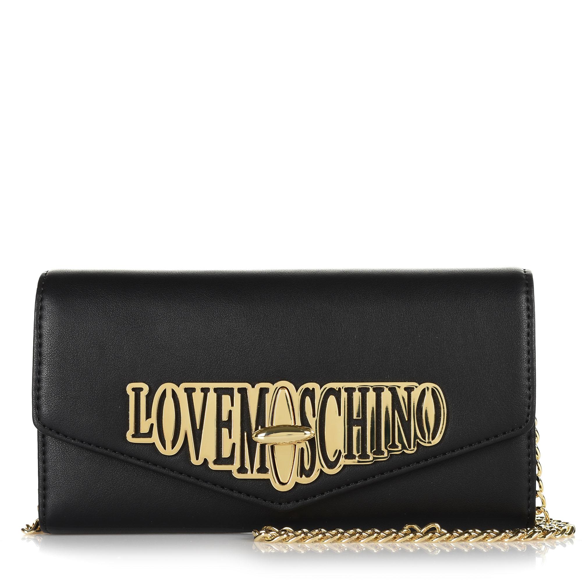Πορτοφόλι – Τσαντάκι Χιαστί Love Μoschino JC5608PP18LF