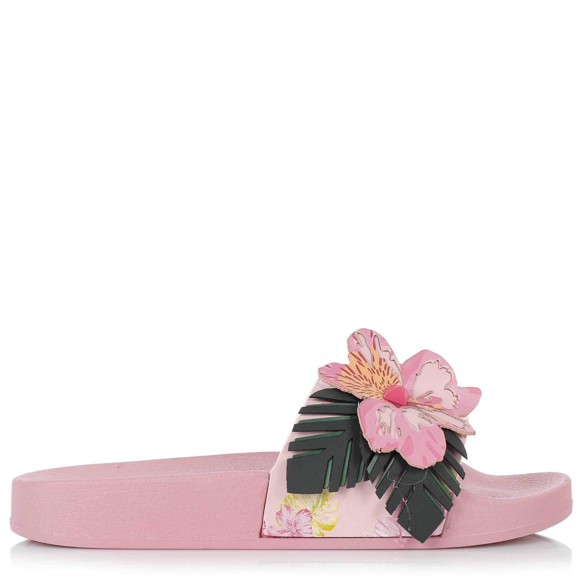 Σαγιονάρες Desigual Shoes Slide Malibu 18SSHP1 γυναικα   γυναικείο παπούτσι