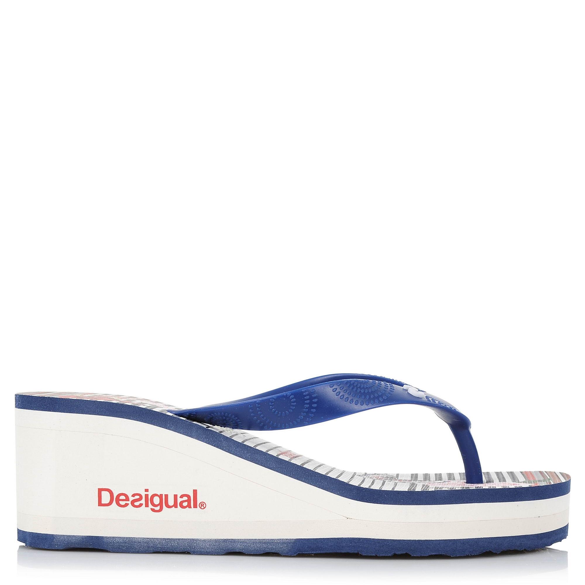 Σαγιονάρες Desigual Shoes Lola Sailor 18SSHF20 γυναικα   γυναικείο παπούτσι